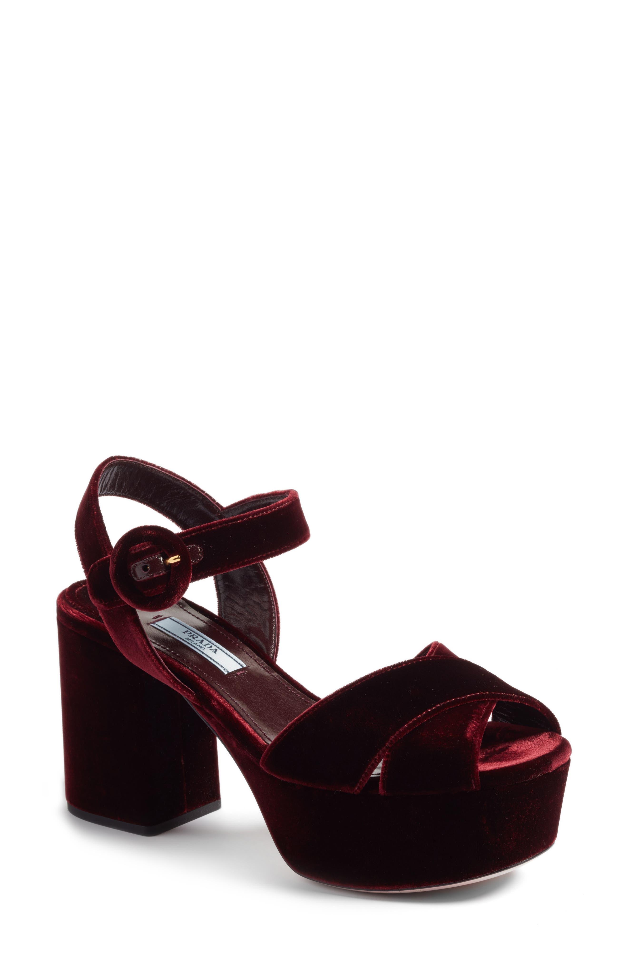 Block Heel Platform Sandal,                             Main thumbnail 3, color,