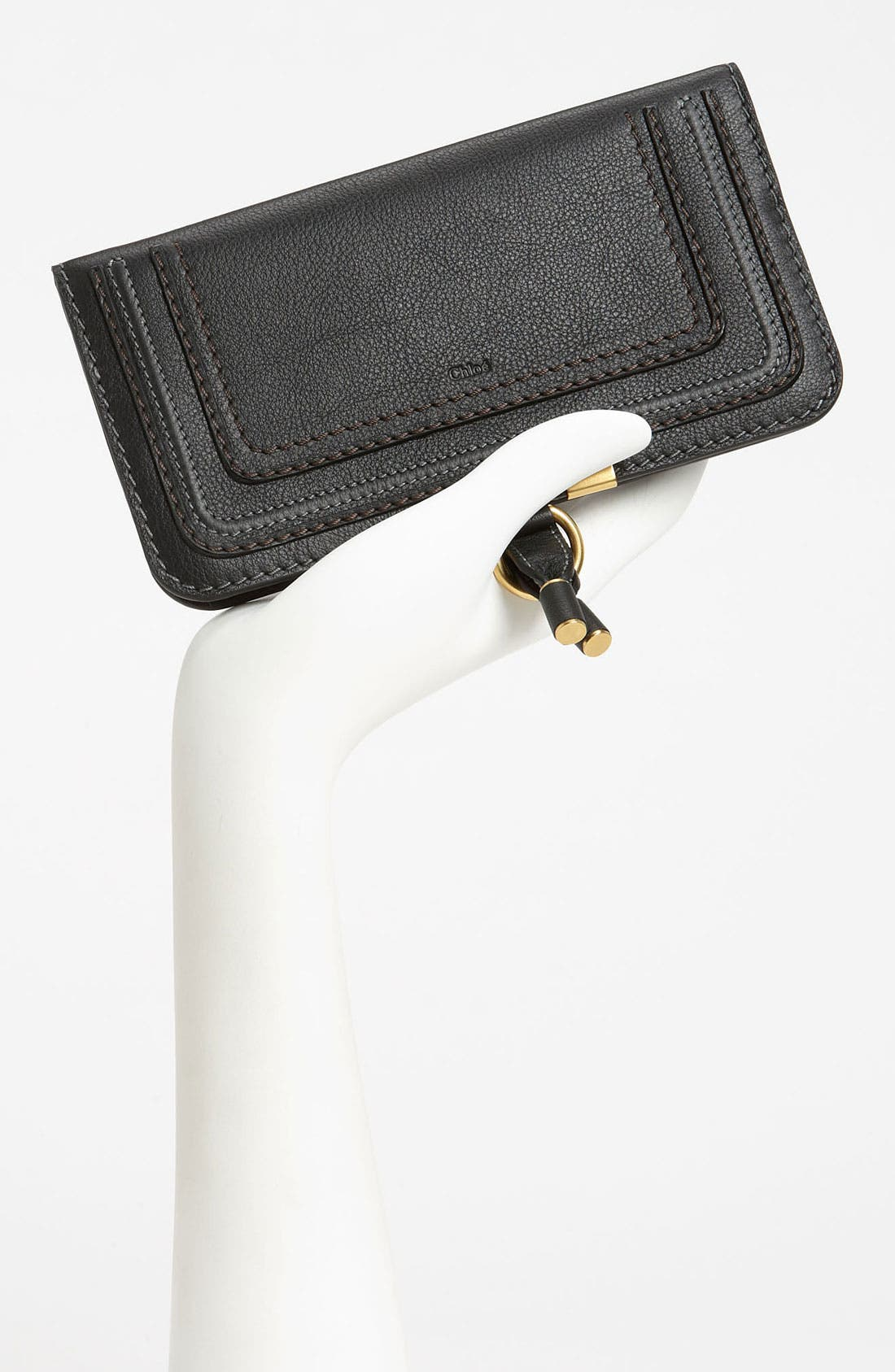 'Marcie' Continental Snap Wallet,                             Alternate thumbnail 3, color,                             001