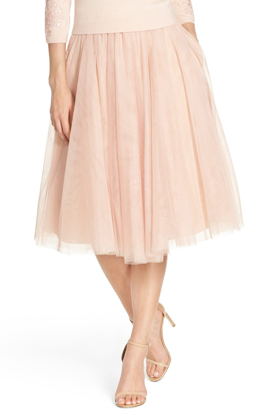 Lucy Tulle Skirt,                             Main thumbnail 3, color,
