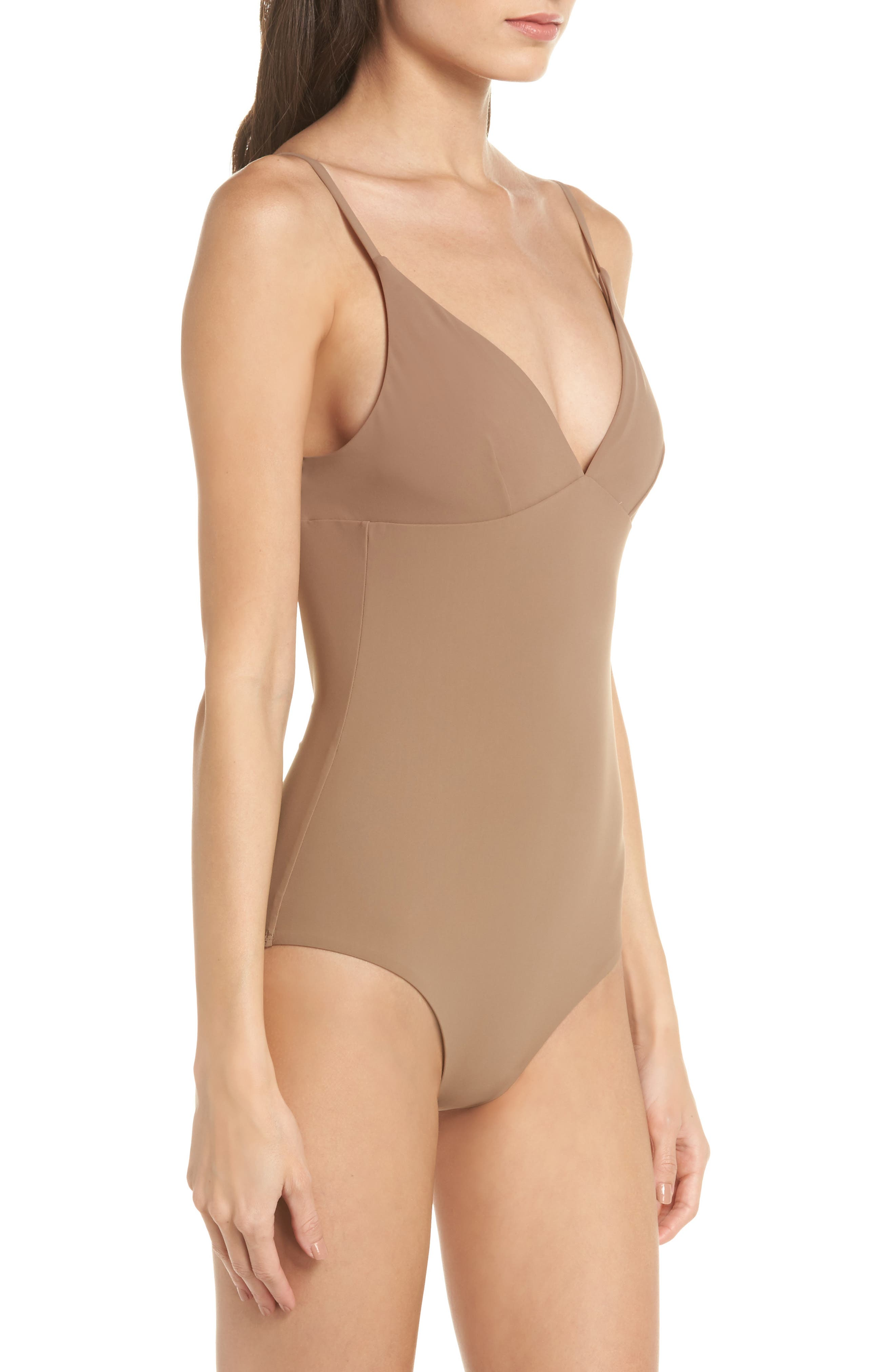 Marina One-Piece Swimsuit,                             Alternate thumbnail 3, color,