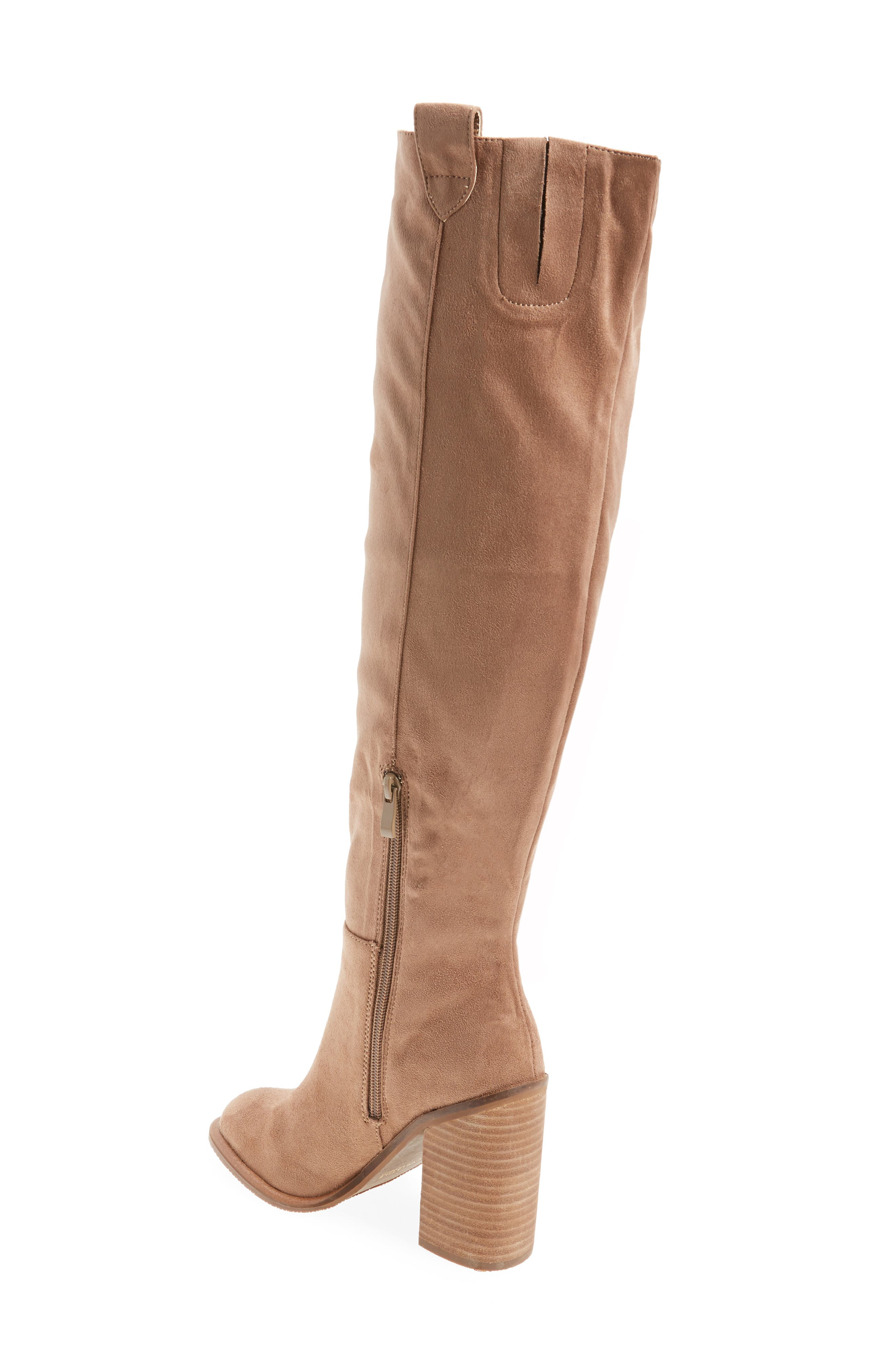 Nate Over the Knee Boot,                             Alternate thumbnail 6, color,