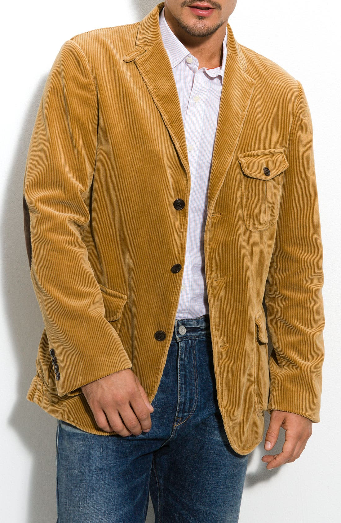 Façonnable Corduroy Blazer, Main, color, 201