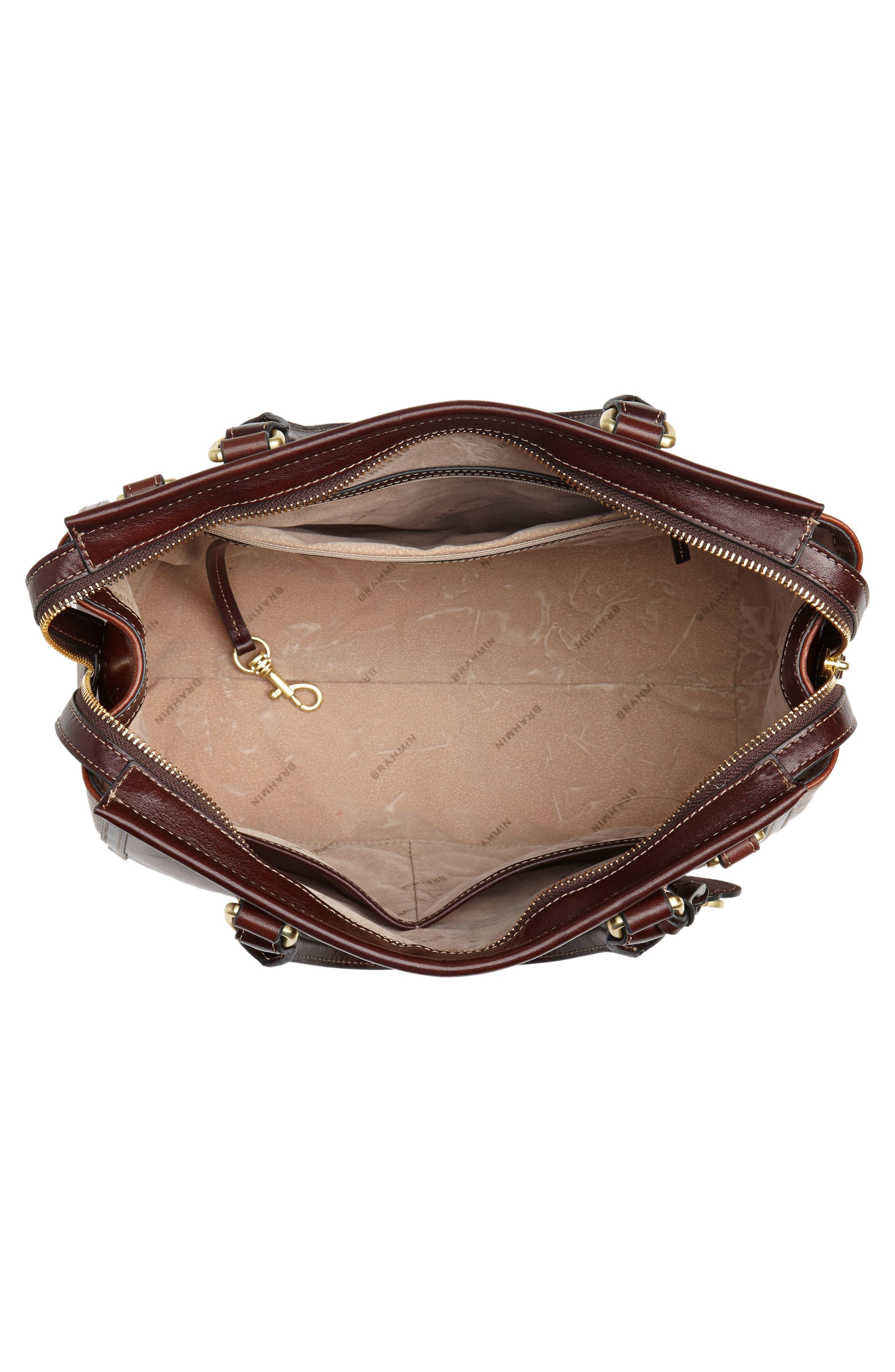 Schooner Leather Satchel,                             Alternate thumbnail 4, color,                             200
