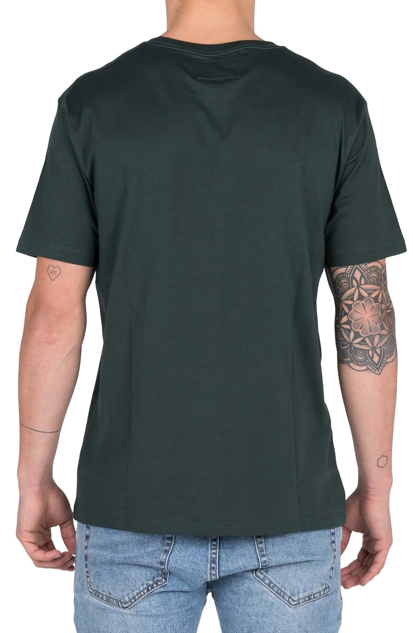 Embroidered Snake T-Shirt,                             Alternate thumbnail 2, color,                             FOREST