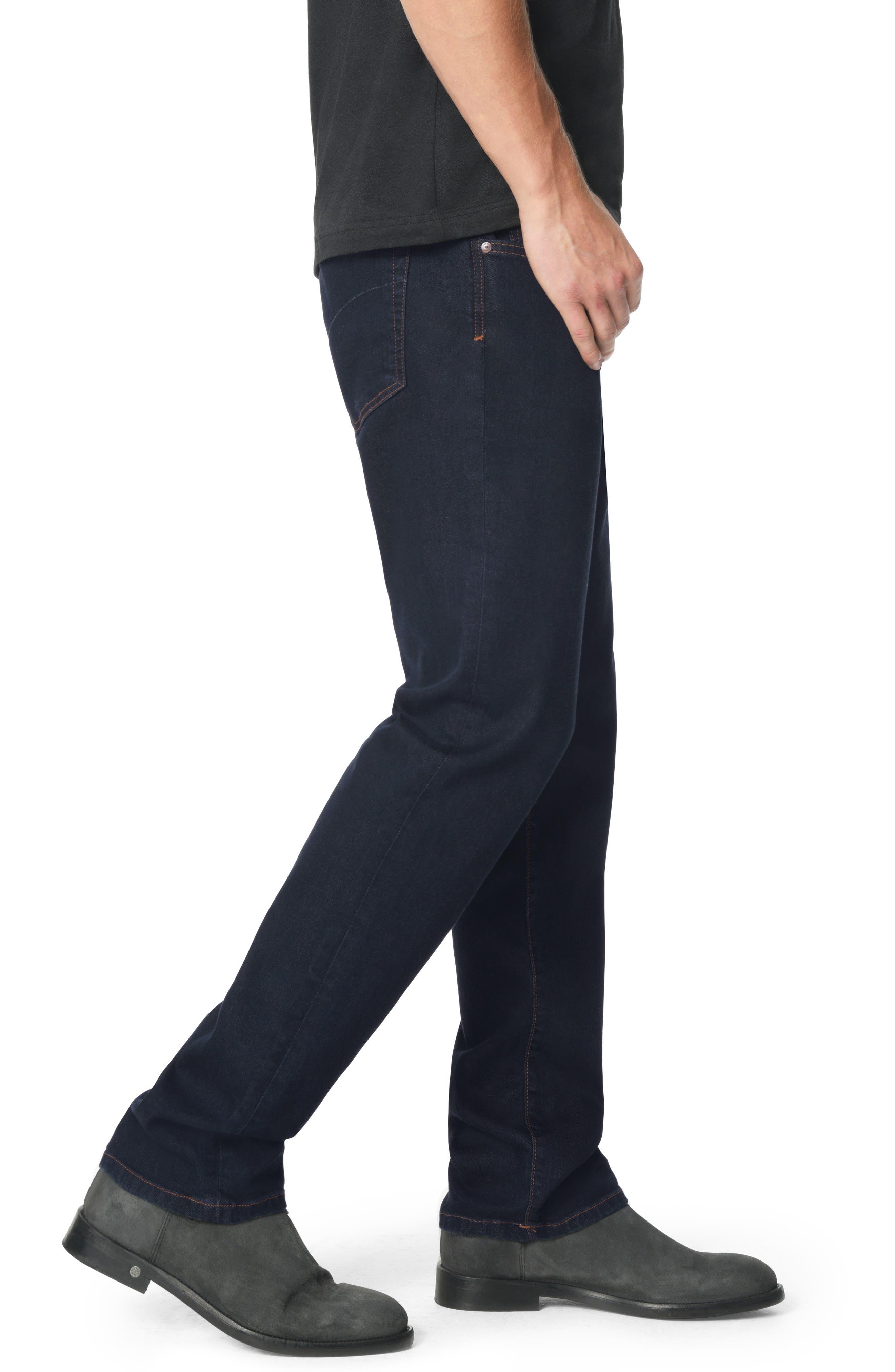Classic Straight Leg Jeans,                             Alternate thumbnail 3, color,                             SIMON