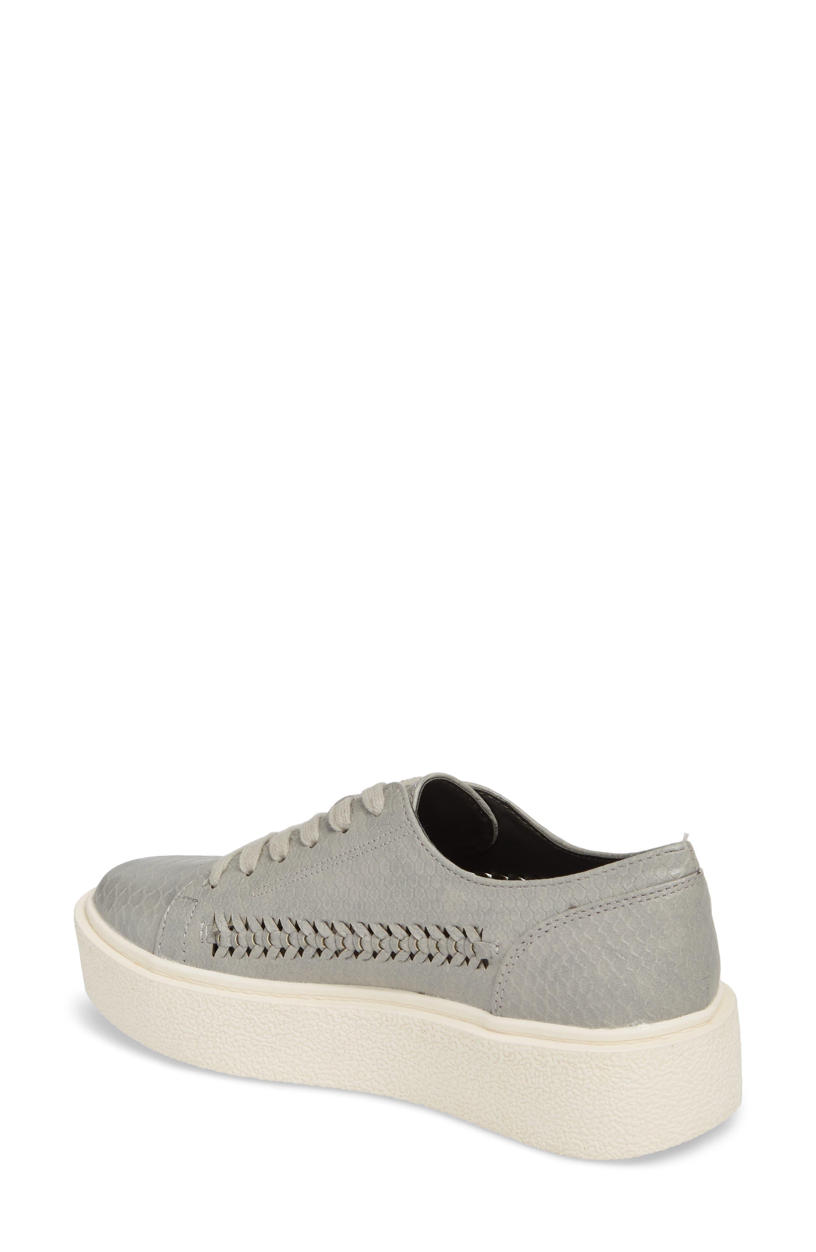 White Out Platform Sneaker,                             Alternate thumbnail 2, color,                             037