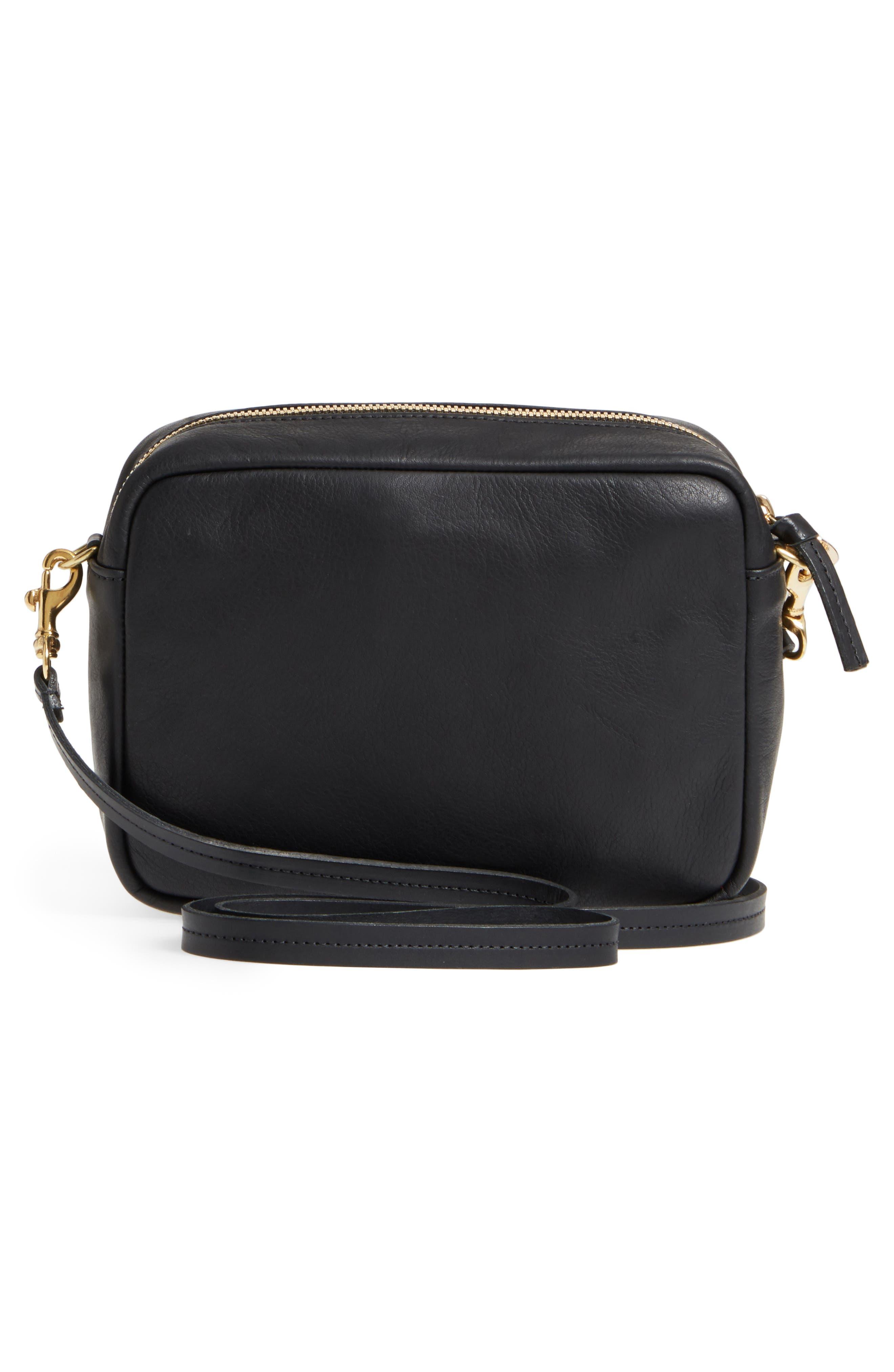 Midi Sac Stripe Leather Crossbody Bag,                             Alternate thumbnail 3, color,                             610