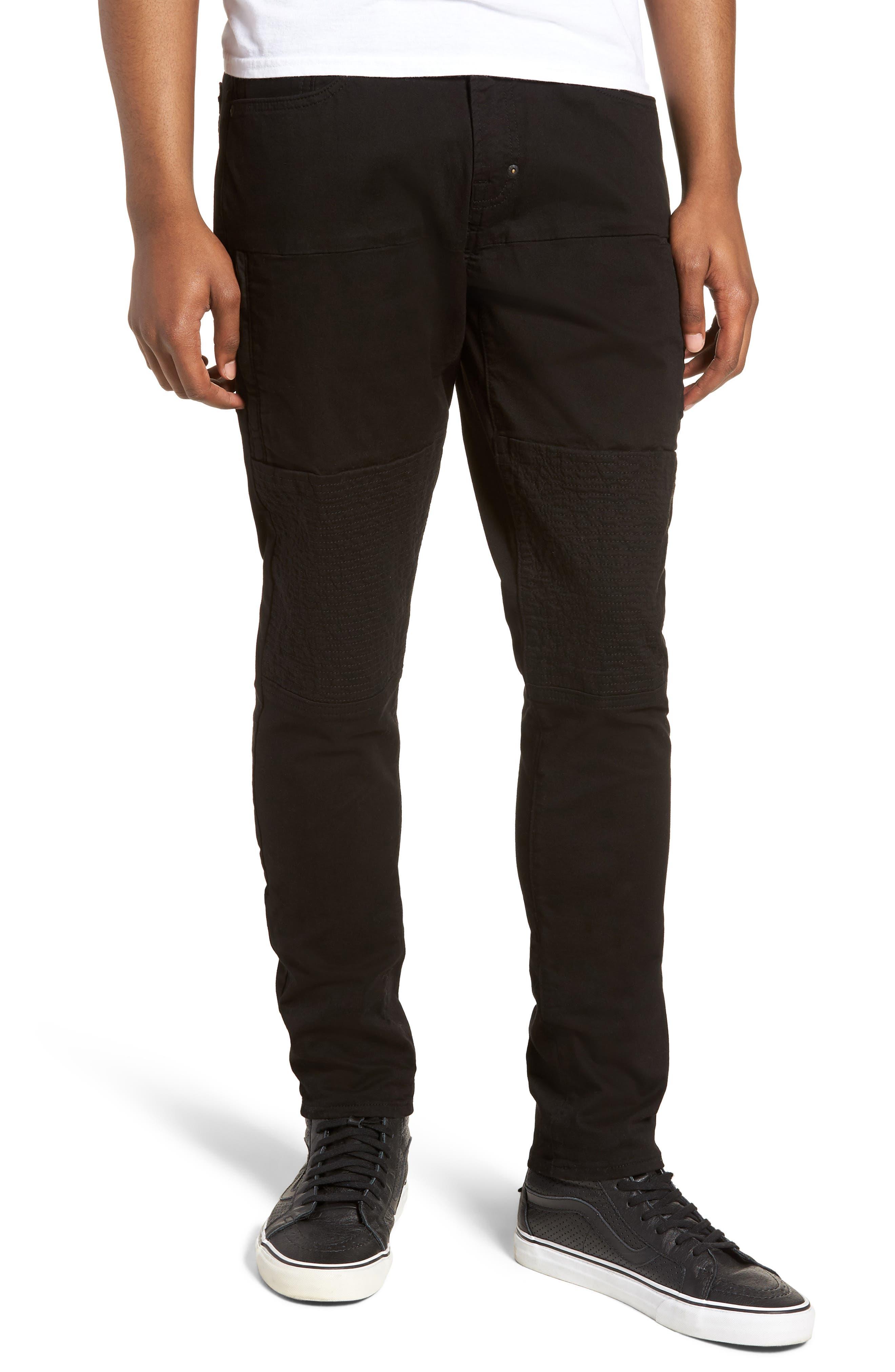 Le Sabre Slim Fit Jeans,                         Main,                         color, BLACK