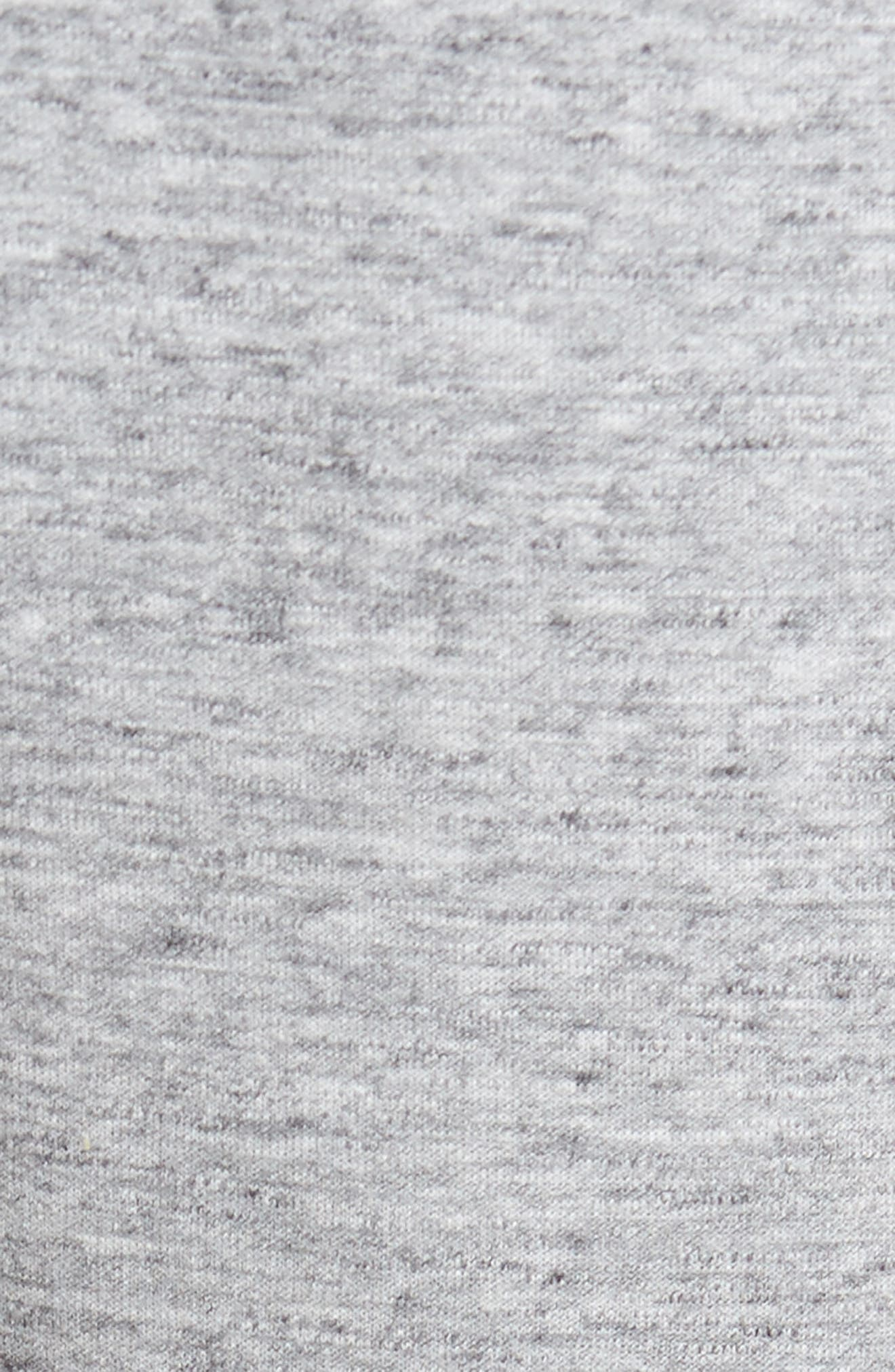 Magnetite Fleece Jogger Pants,                             Alternate thumbnail 6, color,                             GREY ZINC MELANGE