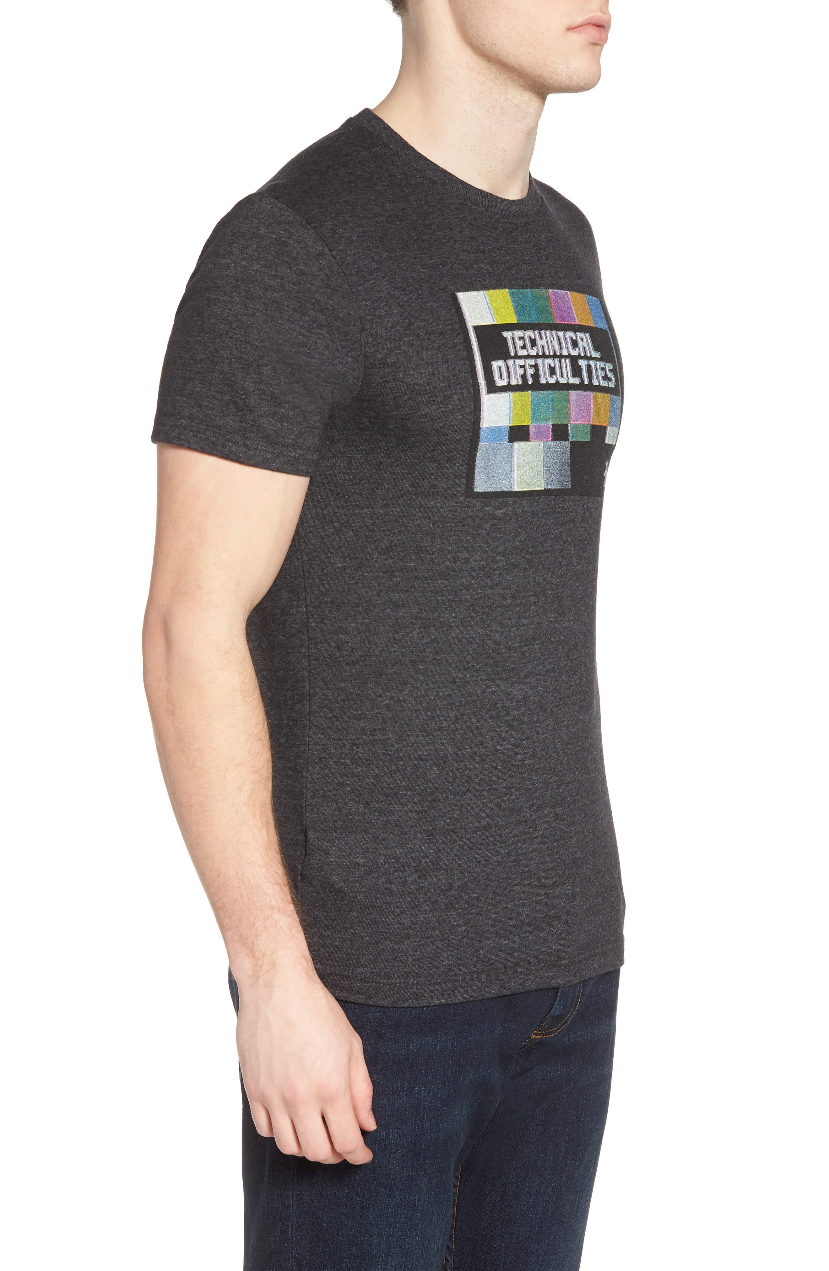 Technical Difficulties T-Shirt,                             Alternate thumbnail 3, color,