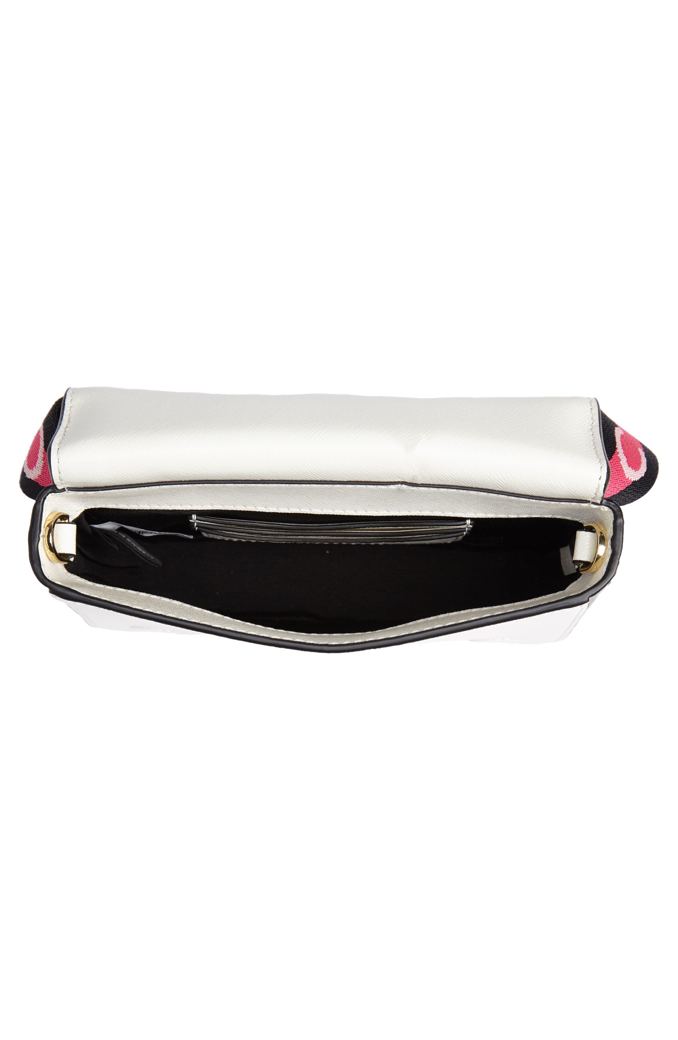 Hip Shot Convertible Leather Belt Bag,                             Alternate thumbnail 7, color,                             BLACK MULTI