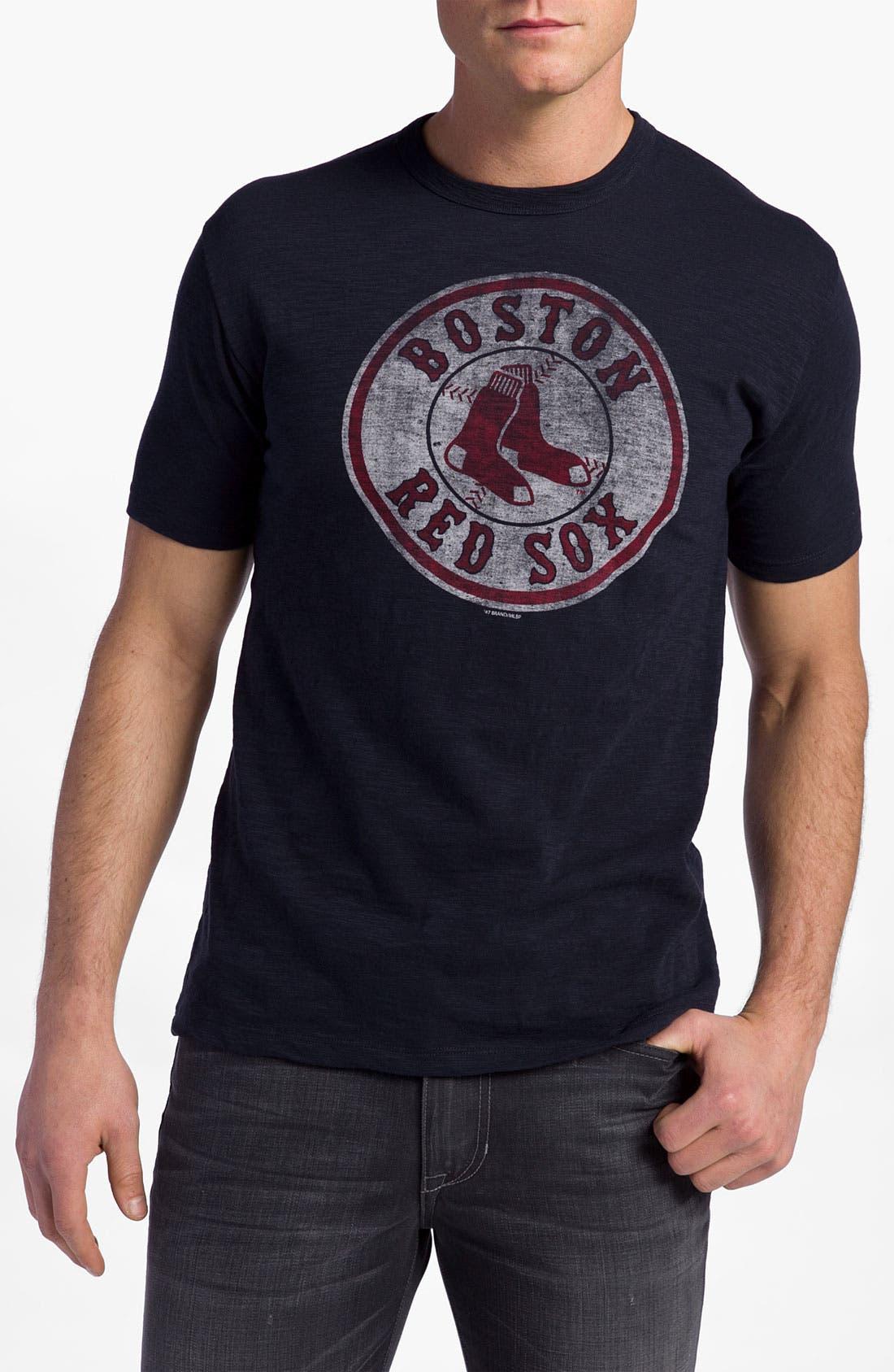 'Chicago Cubs' Regular Fit Crewneck T-Shirt,                             Main thumbnail 16, color,