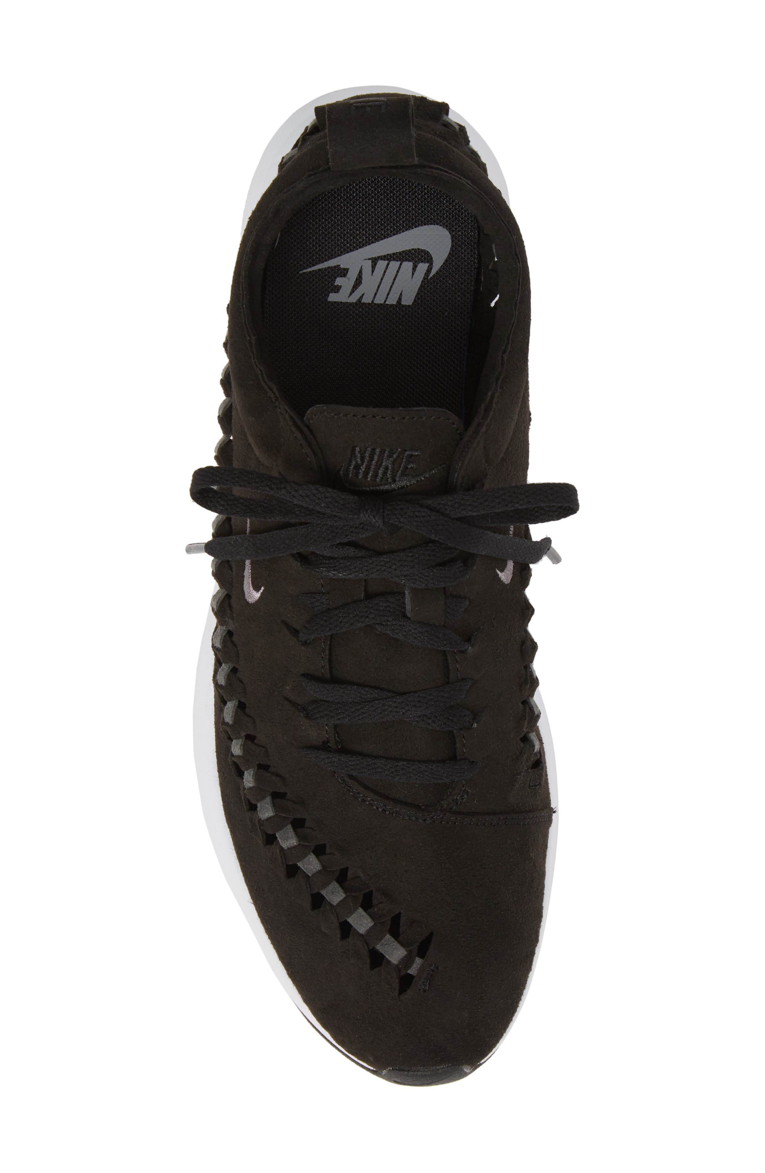 Dualtone Racer Woven Sneaker,                             Alternate thumbnail 5, color,                             002