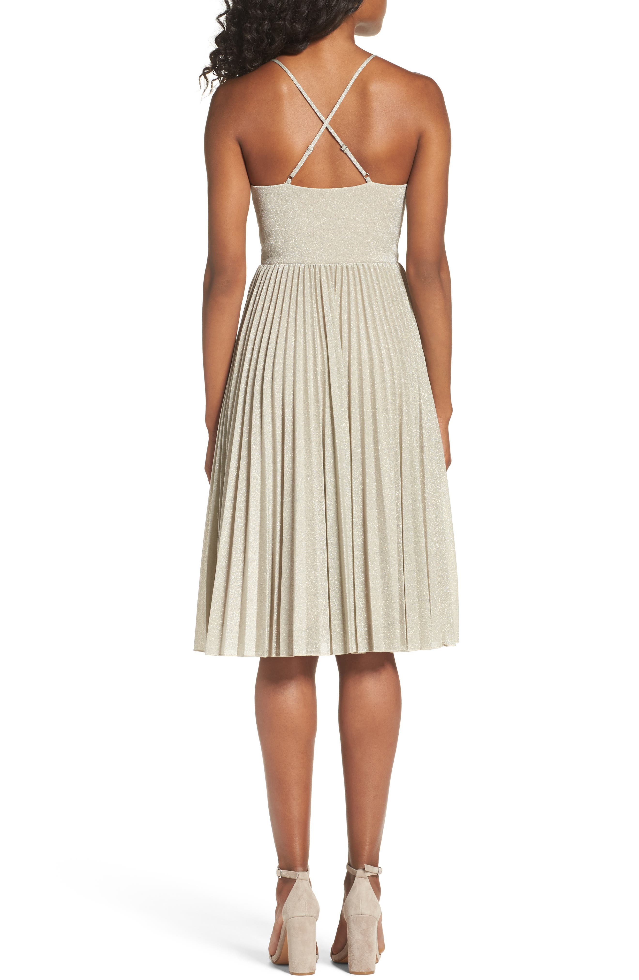 Jolene Fit & Flare Dress,                             Alternate thumbnail 2, color,                             024