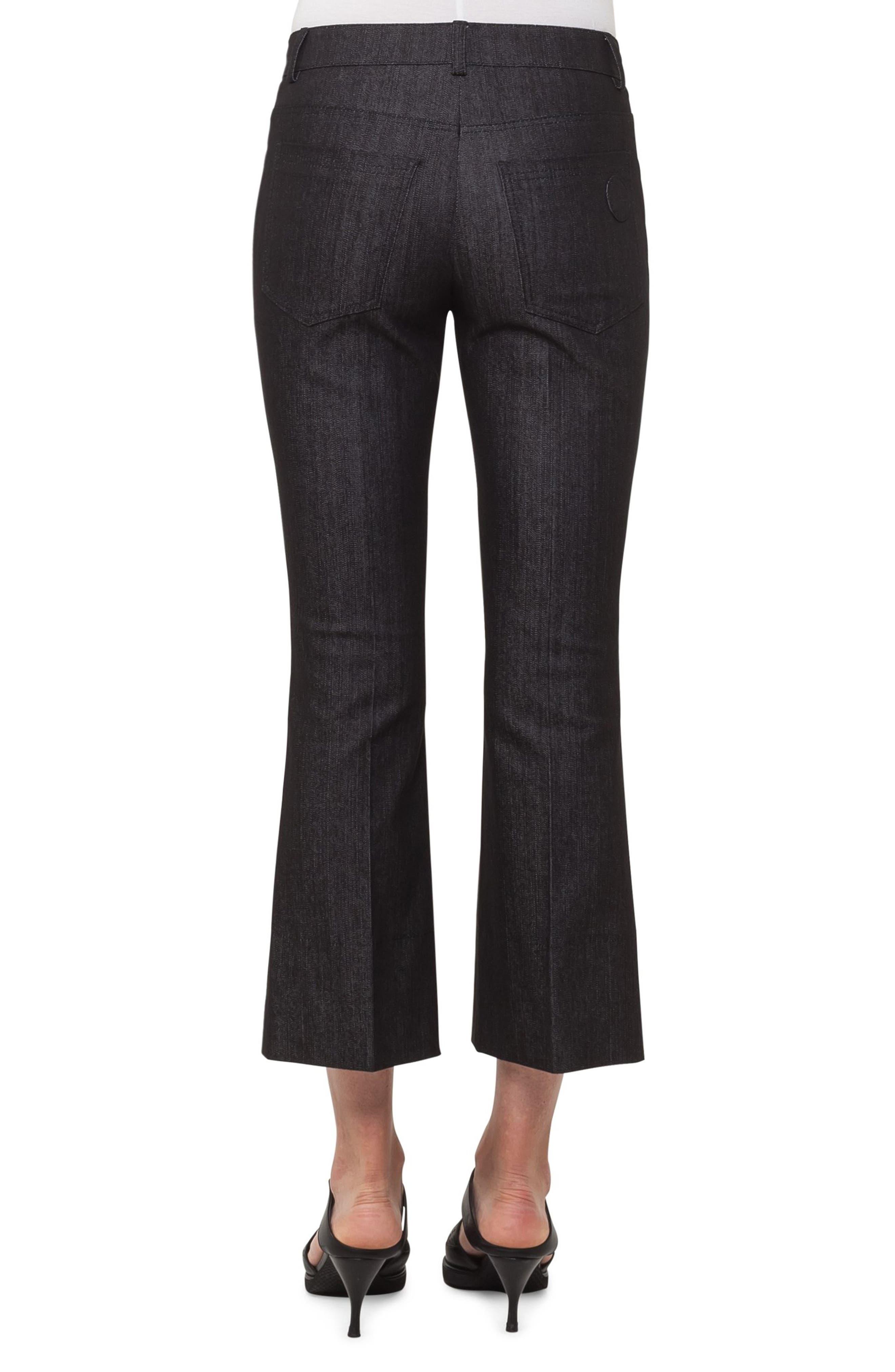 Manou Crop Flare Jeans,                             Alternate thumbnail 2, color,                             009