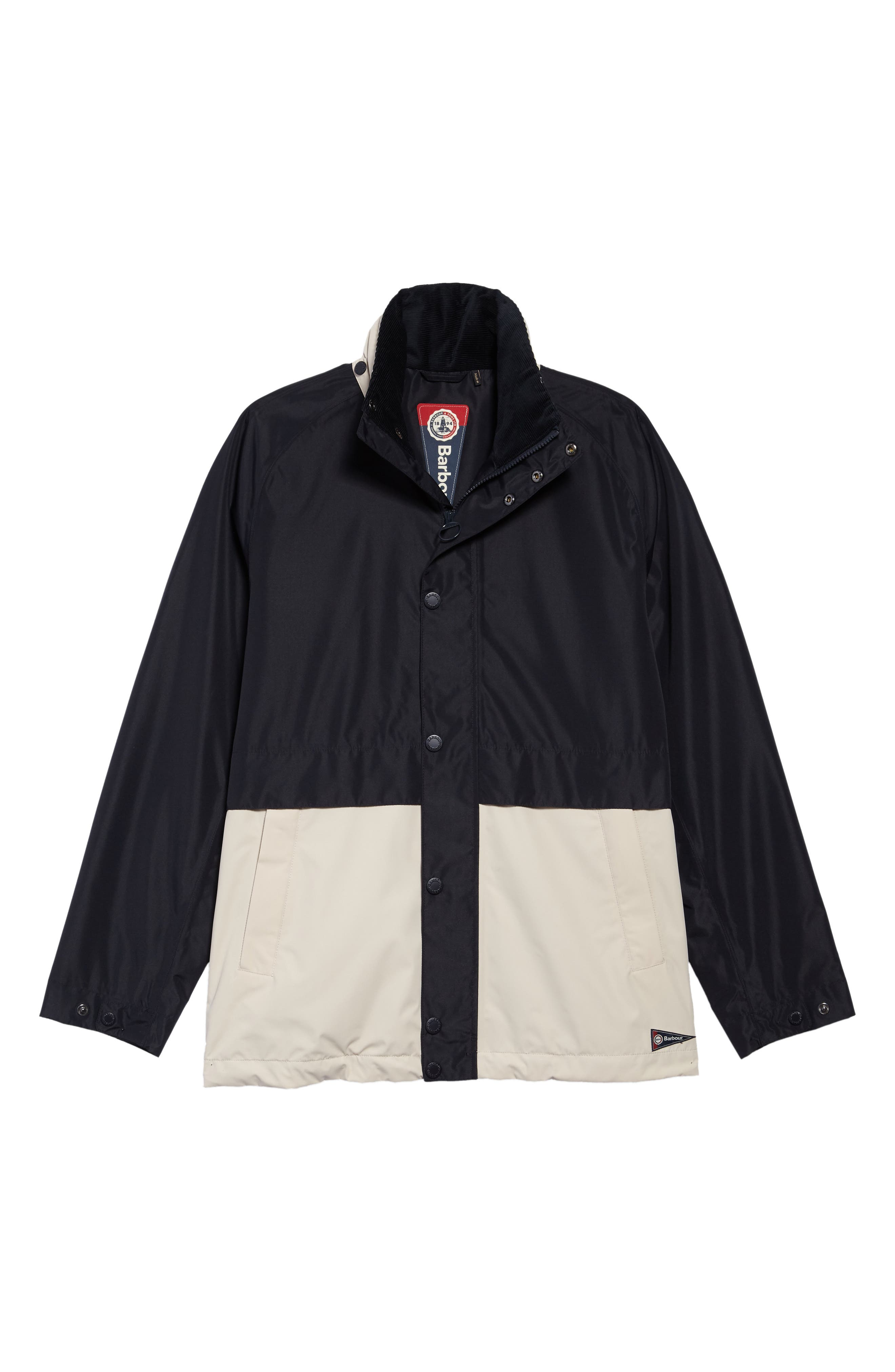Nautical Dolan Waterproof Jacket,                             Alternate thumbnail 5, color,                             410