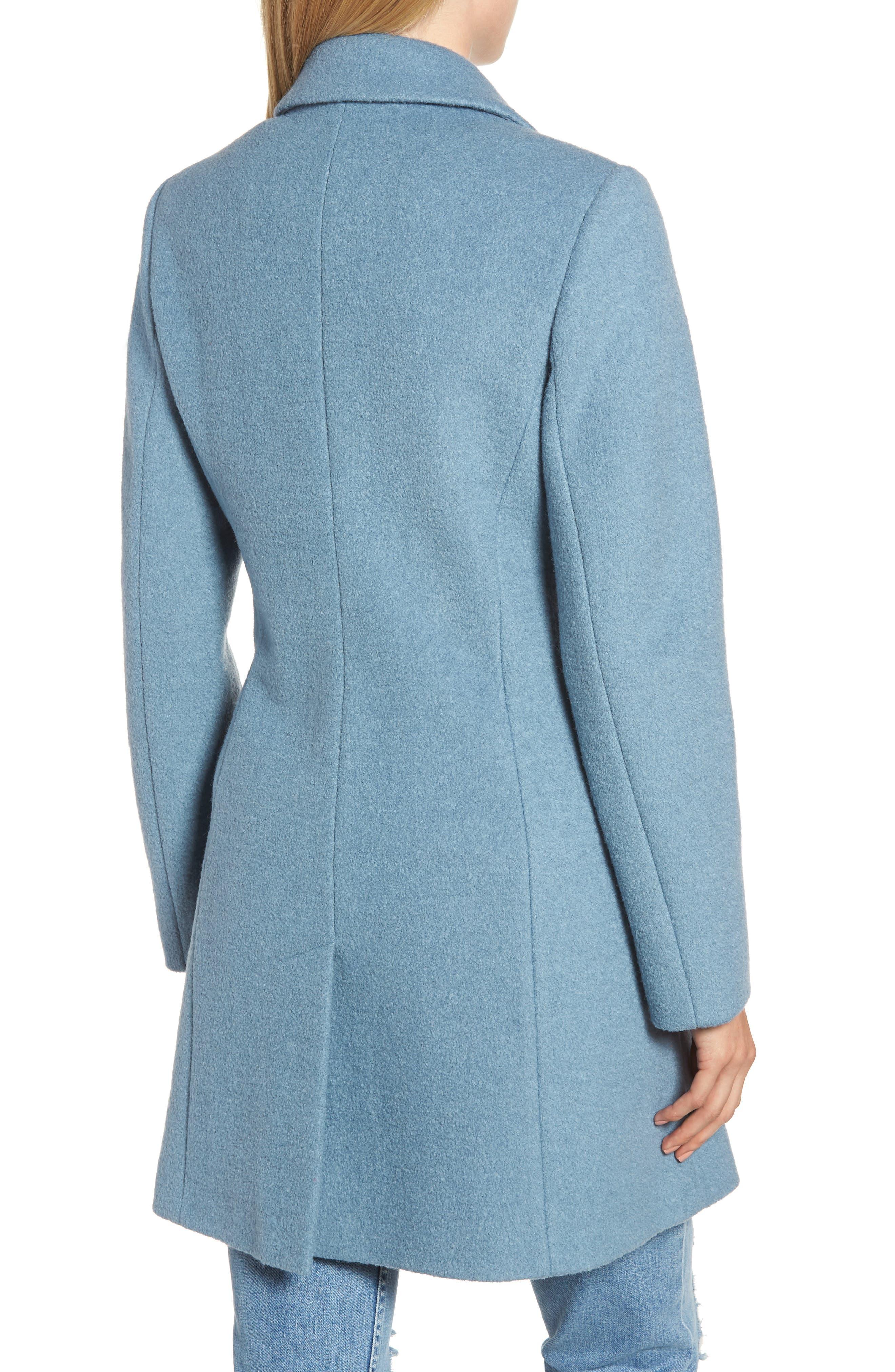 Blazer Jacket,                             Alternate thumbnail 2, color,                             LIGHT BLUE