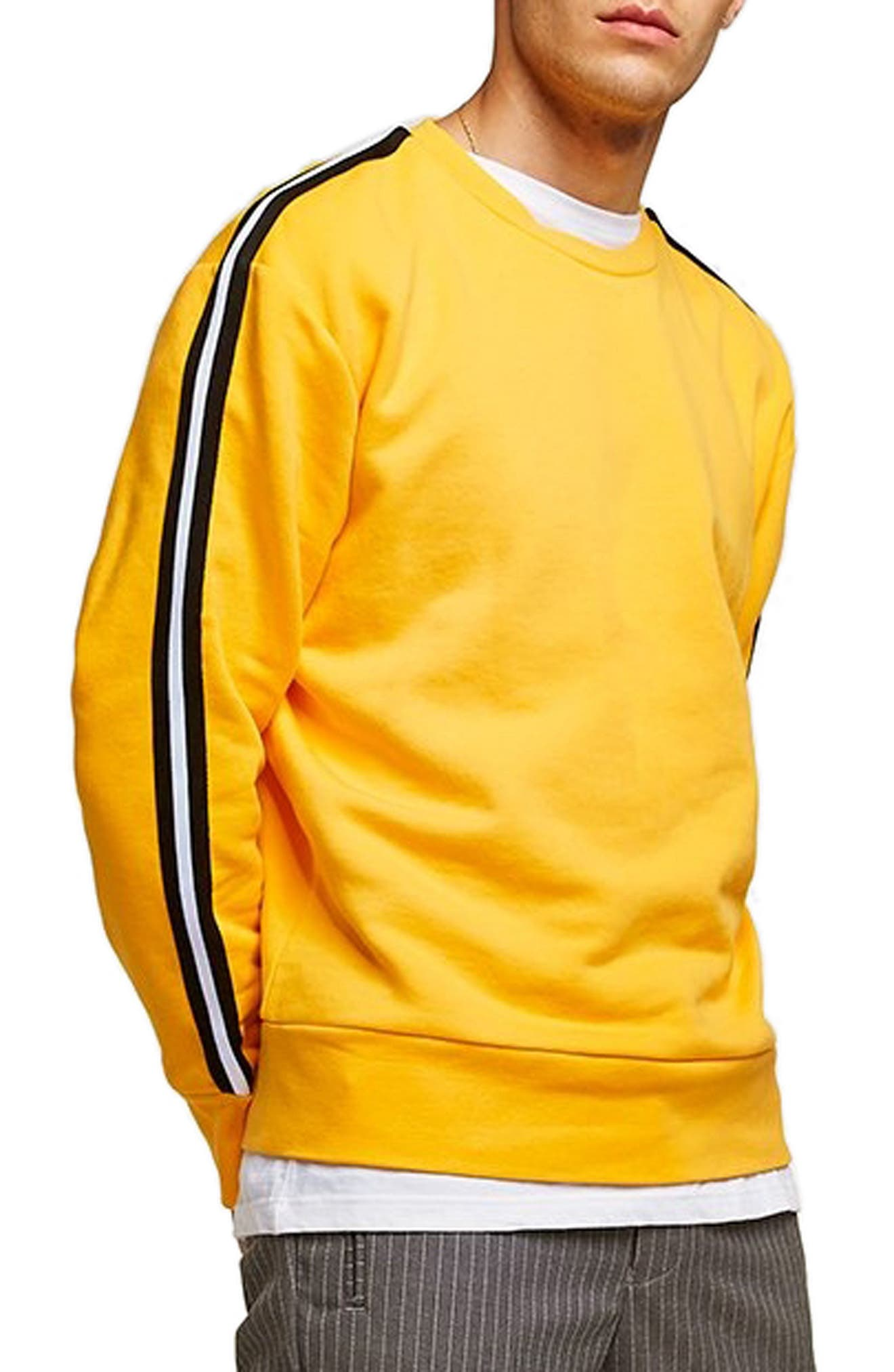 Taped Classic Fit Sweatshirt,                             Main thumbnail 1, color,                             700