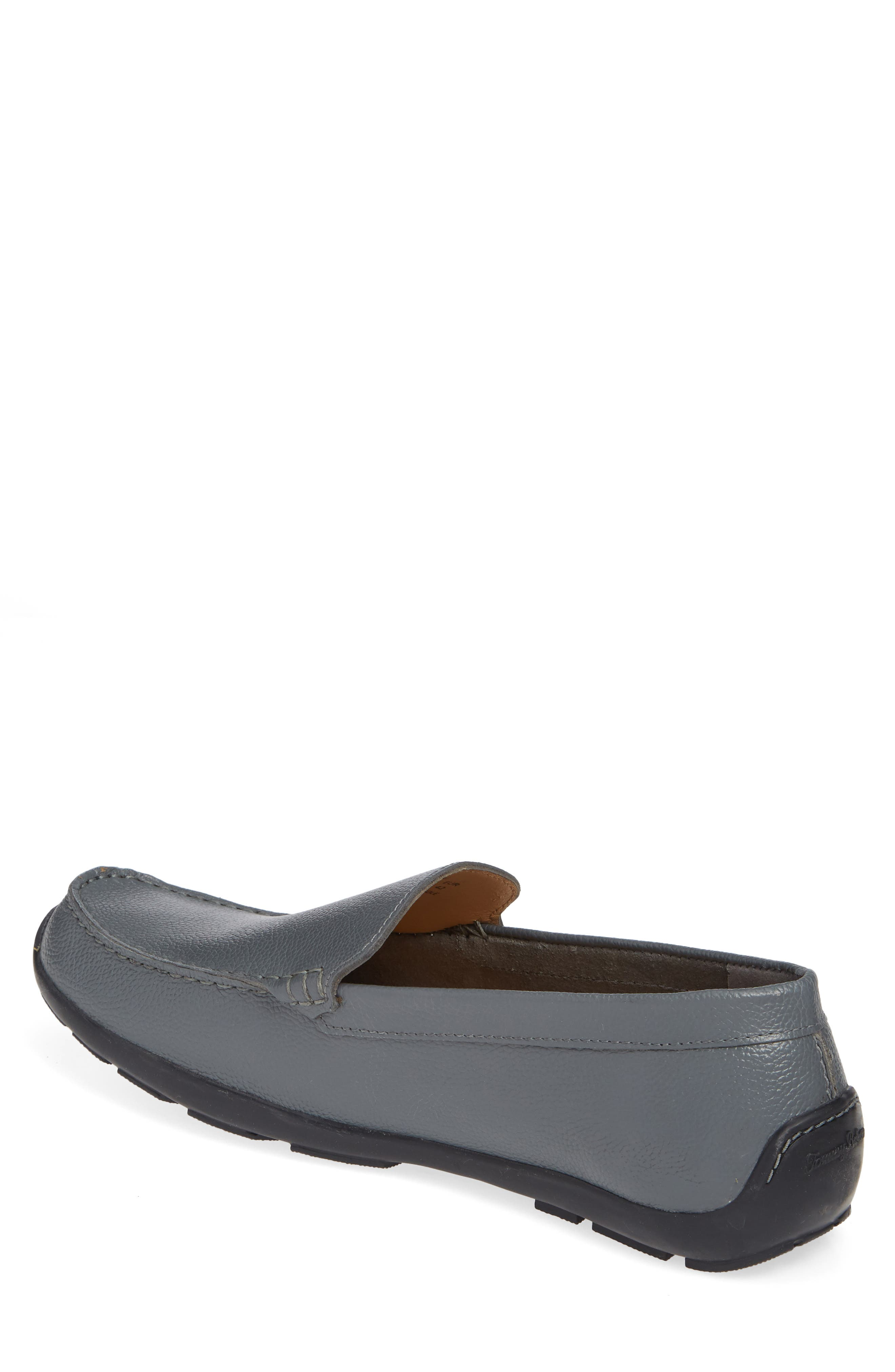 Orion Venetian Loafer,                             Alternate thumbnail 2, color,                             GREY TUMBLED LEATHER