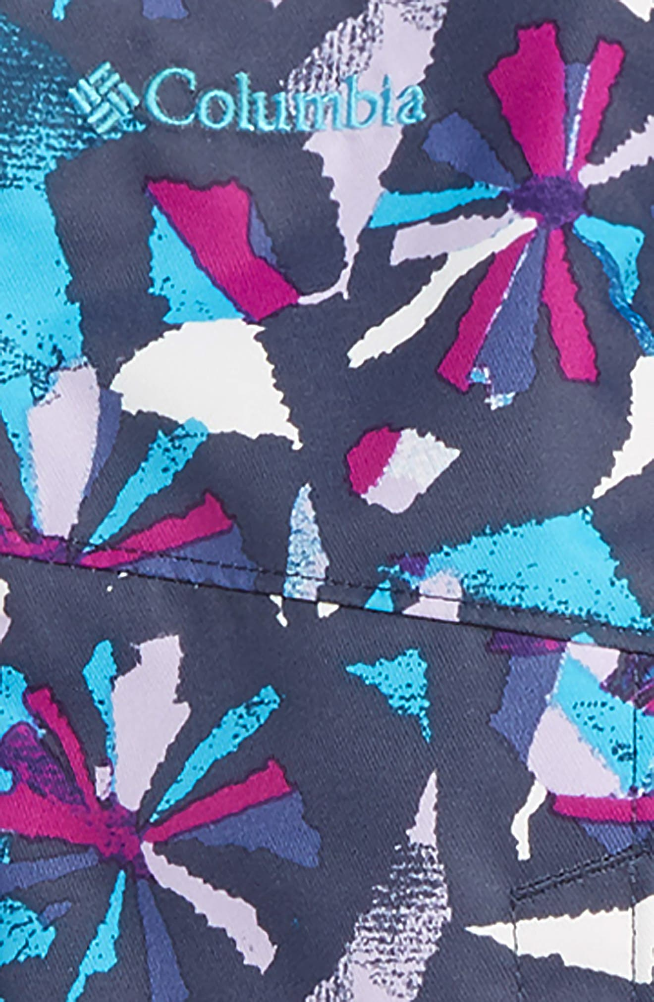 Buga Waterproof Insulated Jacket & Snow Bib,                             Alternate thumbnail 2, color,                             BRIGHT PLUM PINWHEEL