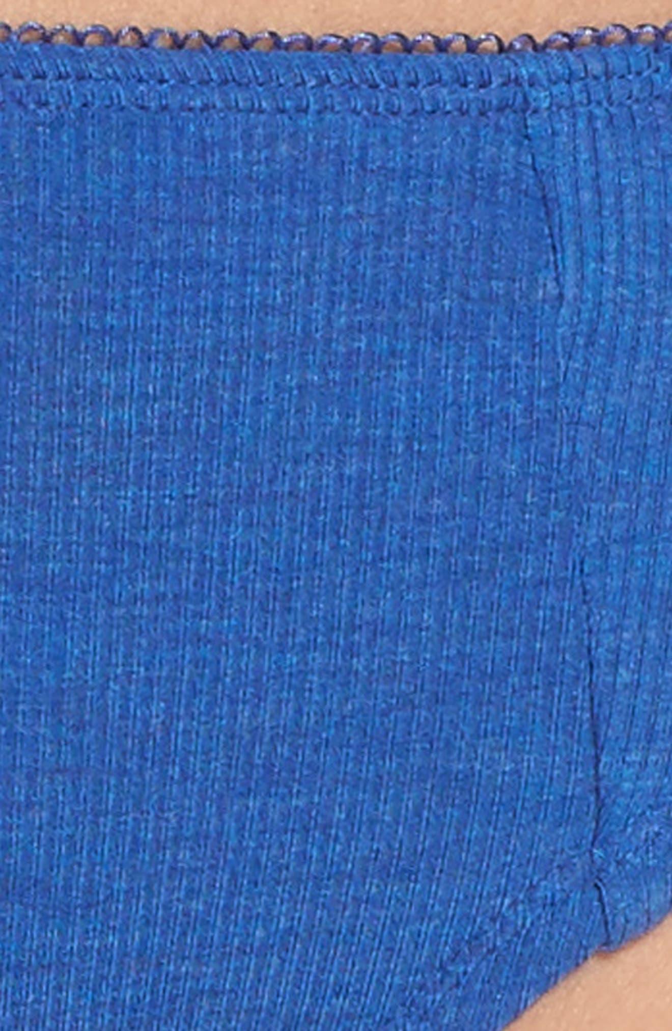 Rib Knit Bikini,                             Alternate thumbnail 31, color,