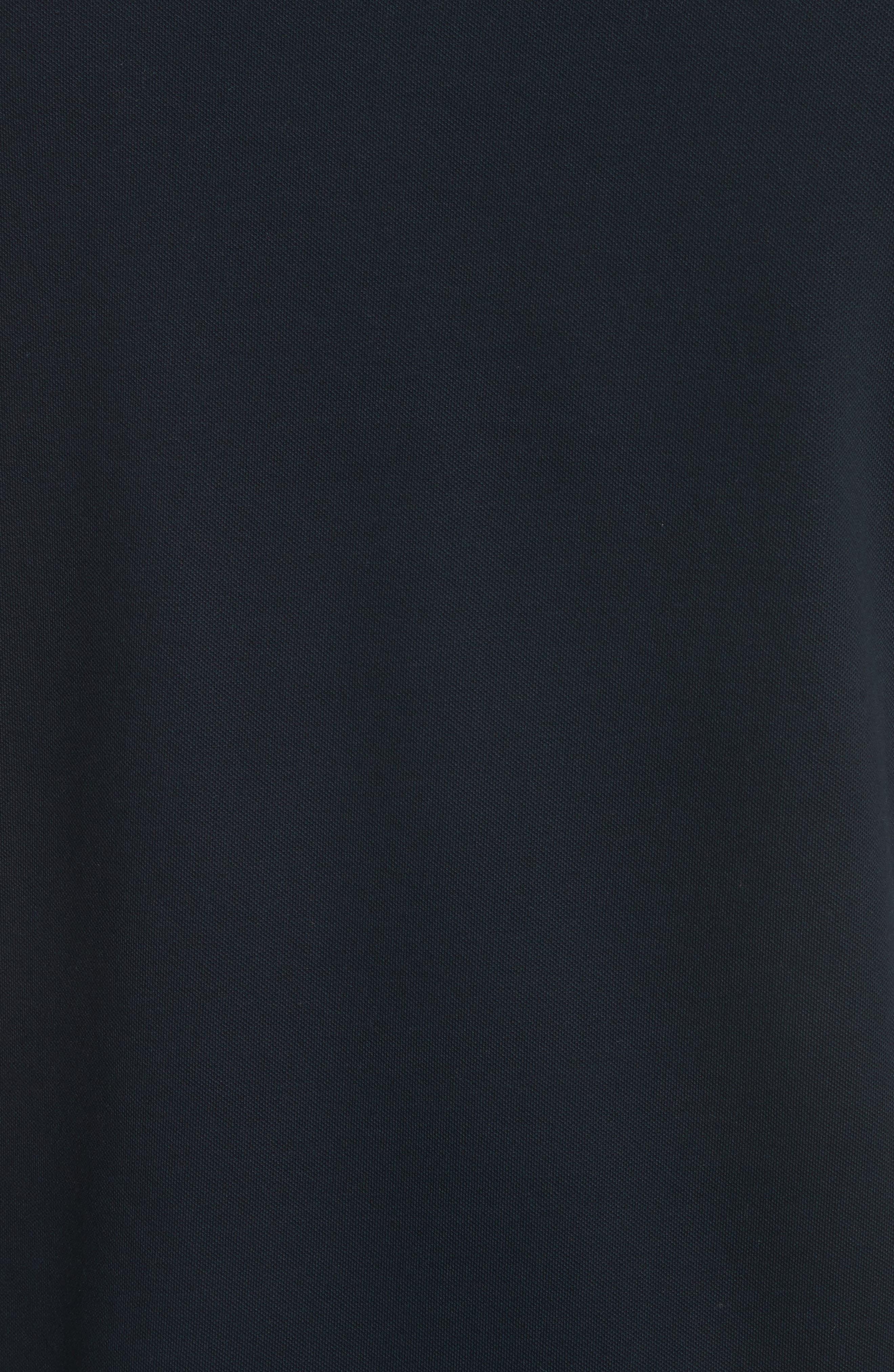 Slim Fit V-Neck Piqué T-Shirt,                             Alternate thumbnail 5, color,                             414