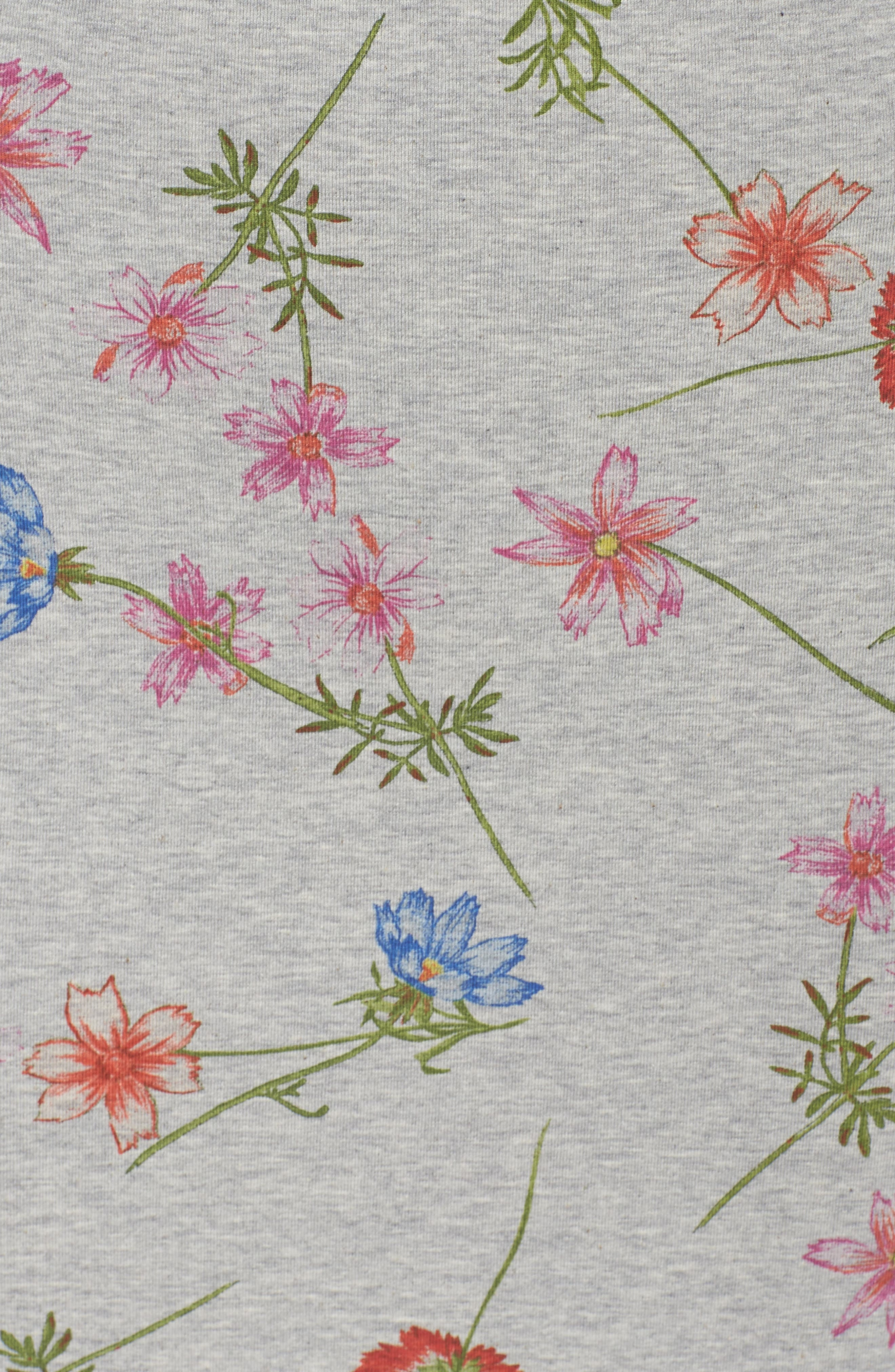 Botero Daisy Jersey Dress,                             Alternate thumbnail 5, color,                             076