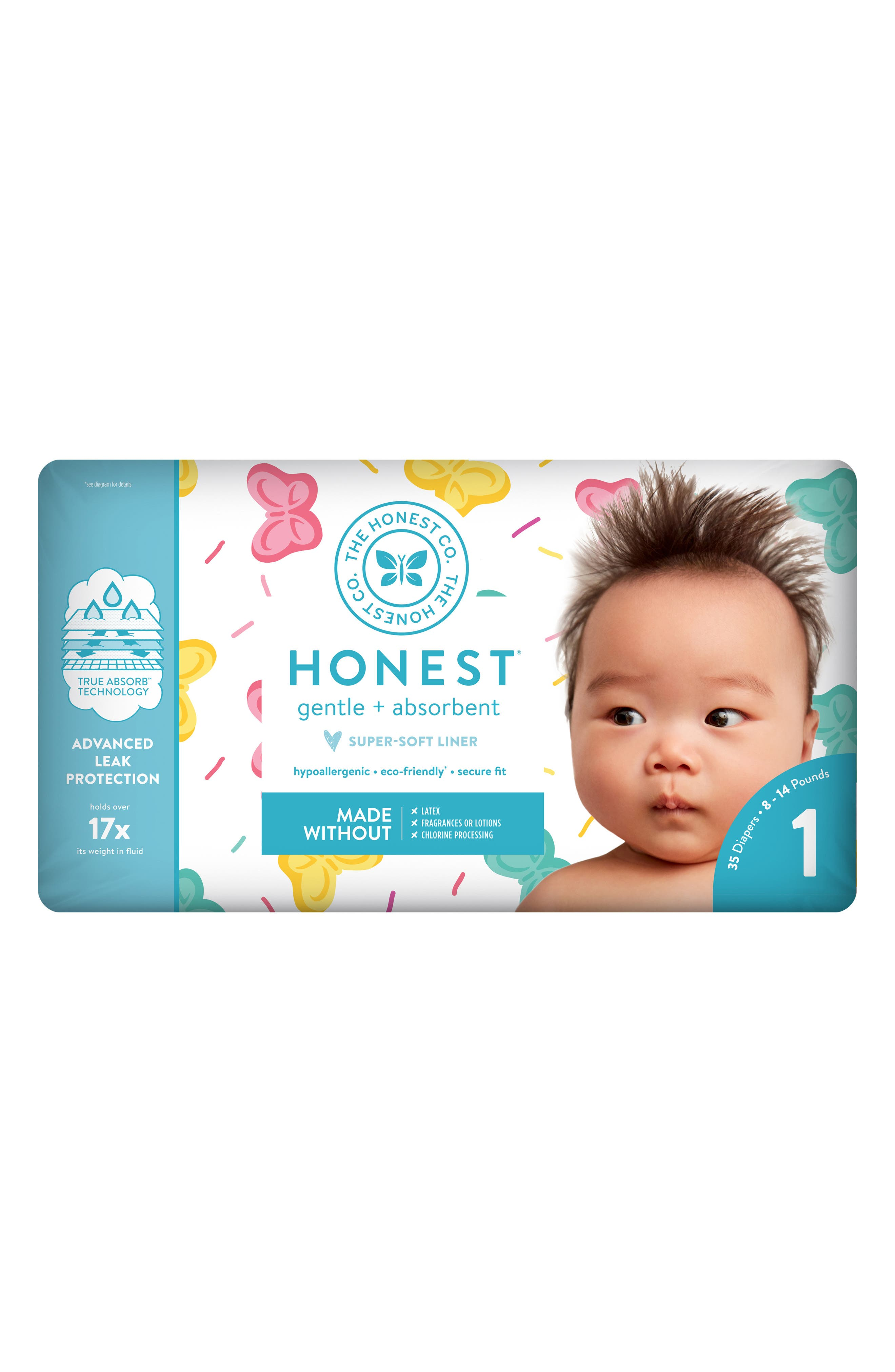 x Sugarfina Sweet Thing Diapers,                             Alternate thumbnail 5, color,                             SWEET THING