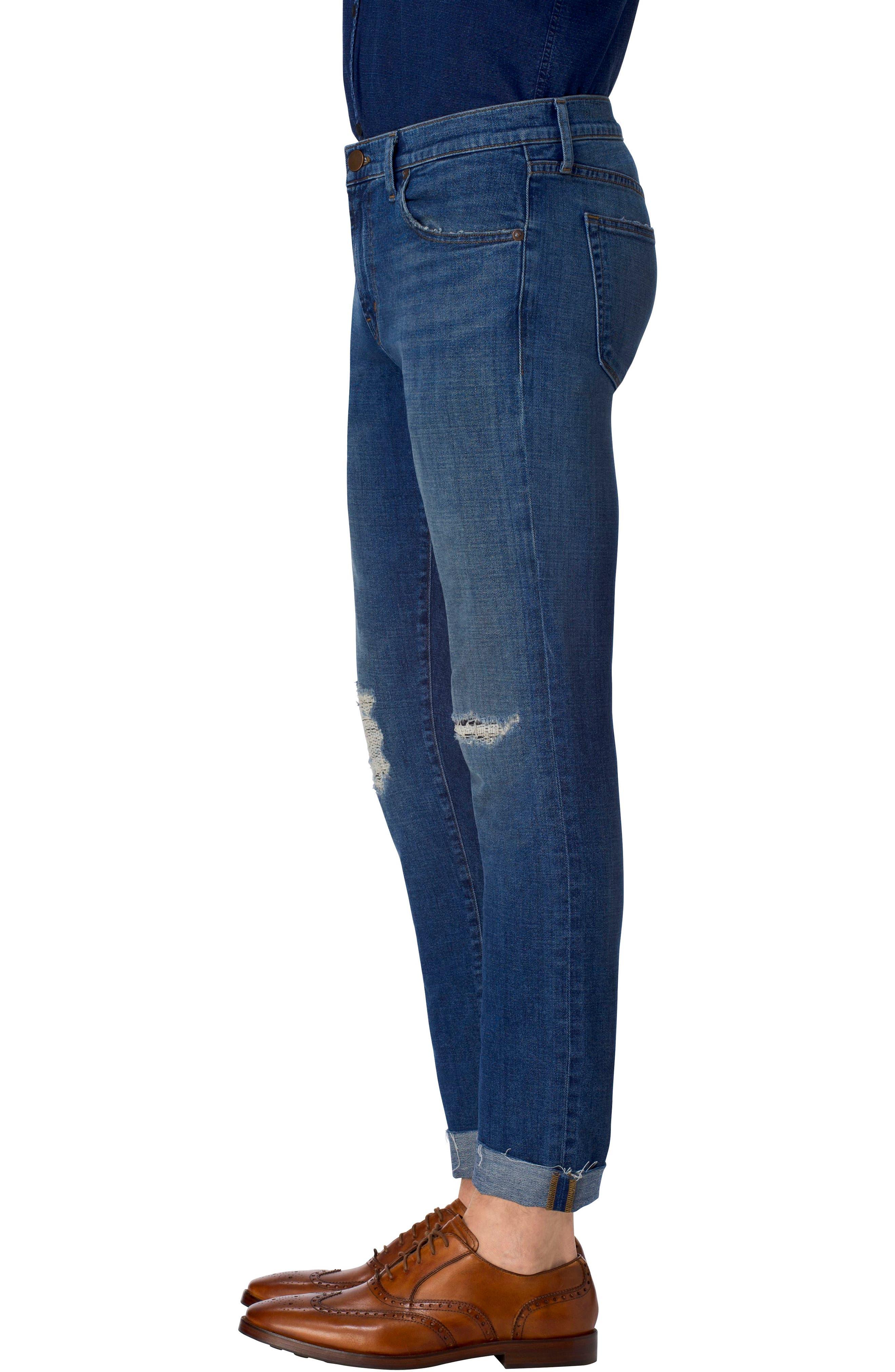 Tyler Slim Fit Jeans,                             Alternate thumbnail 3, color,                             485