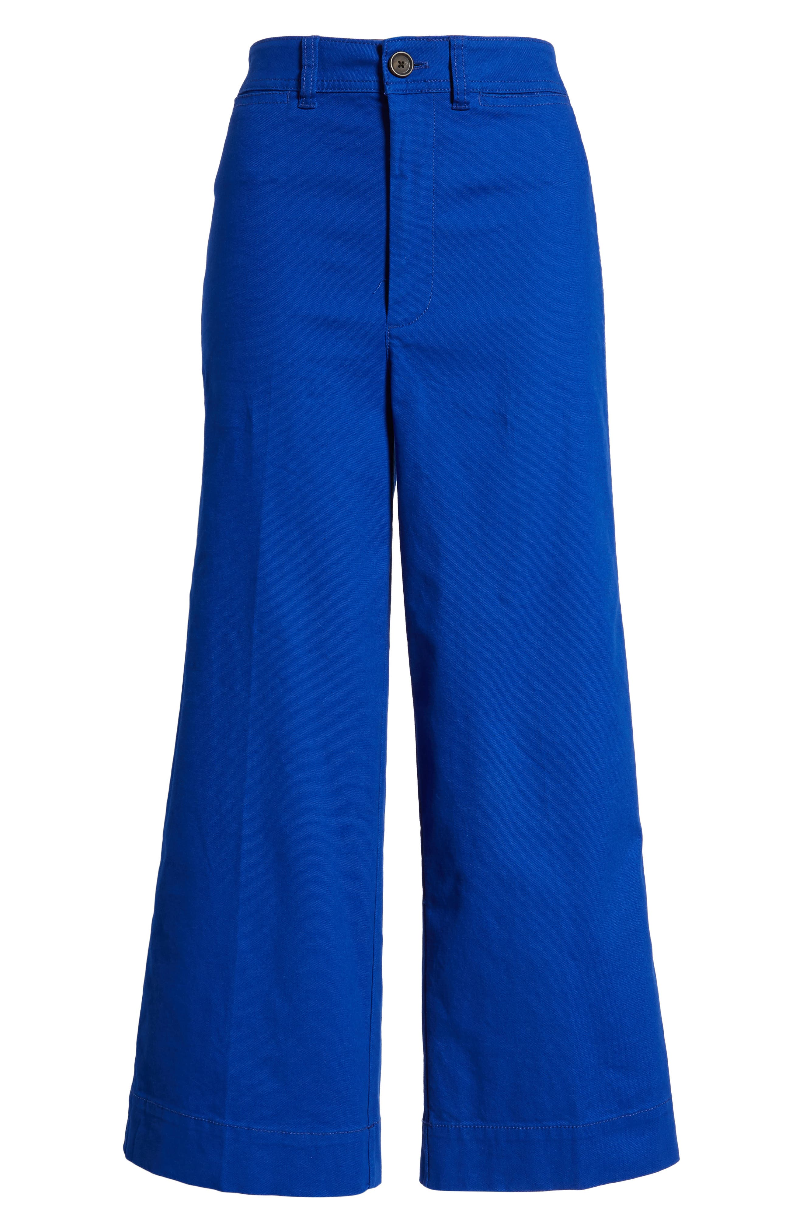 Emmett Crop Wide Leg Pants,                             Alternate thumbnail 20, color,