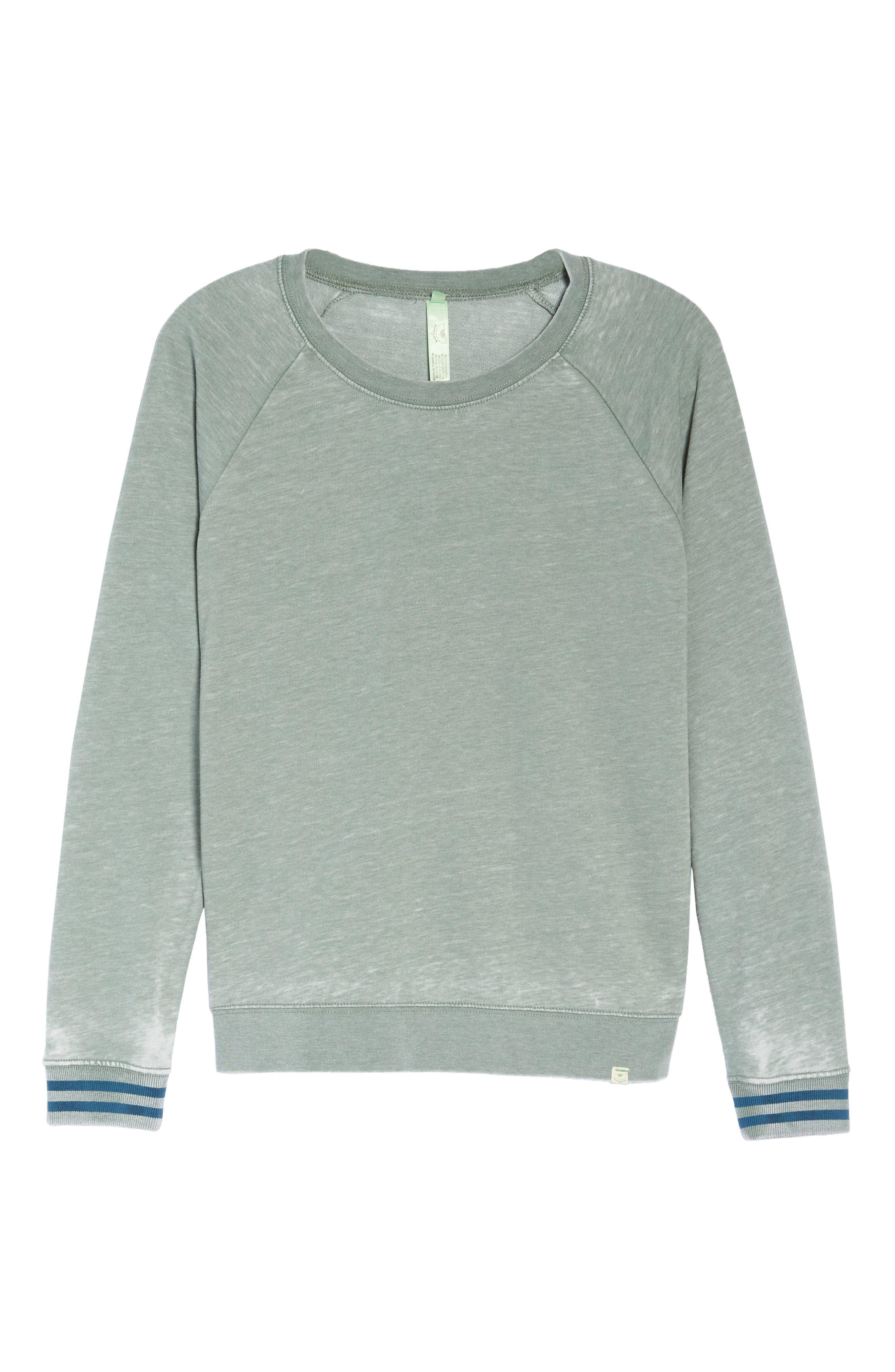 Burnout Lounge Sweatshirt,                             Alternate thumbnail 317, color,