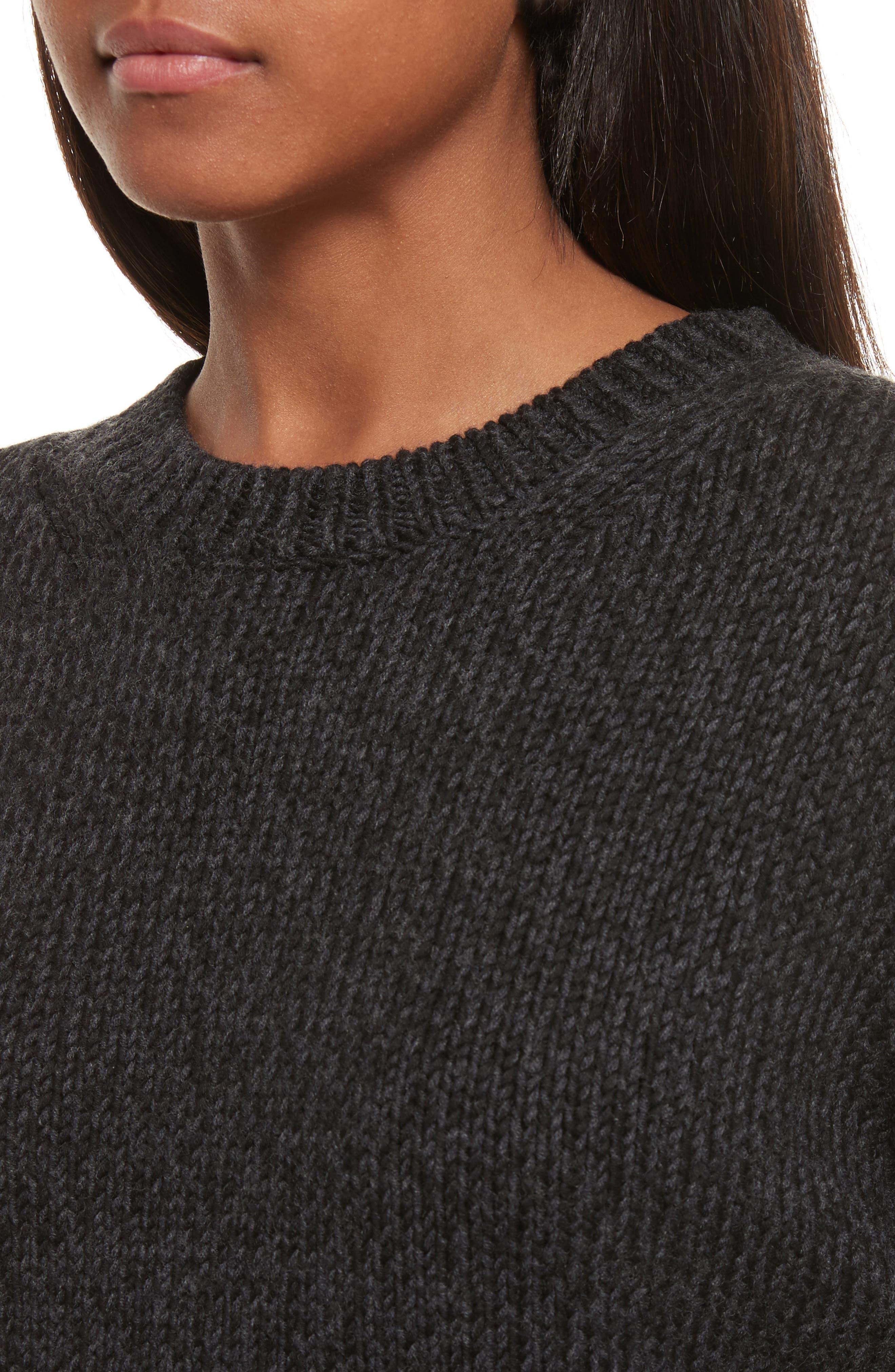 Sheila Crewneck Sweater,                             Alternate thumbnail 4, color,                             020