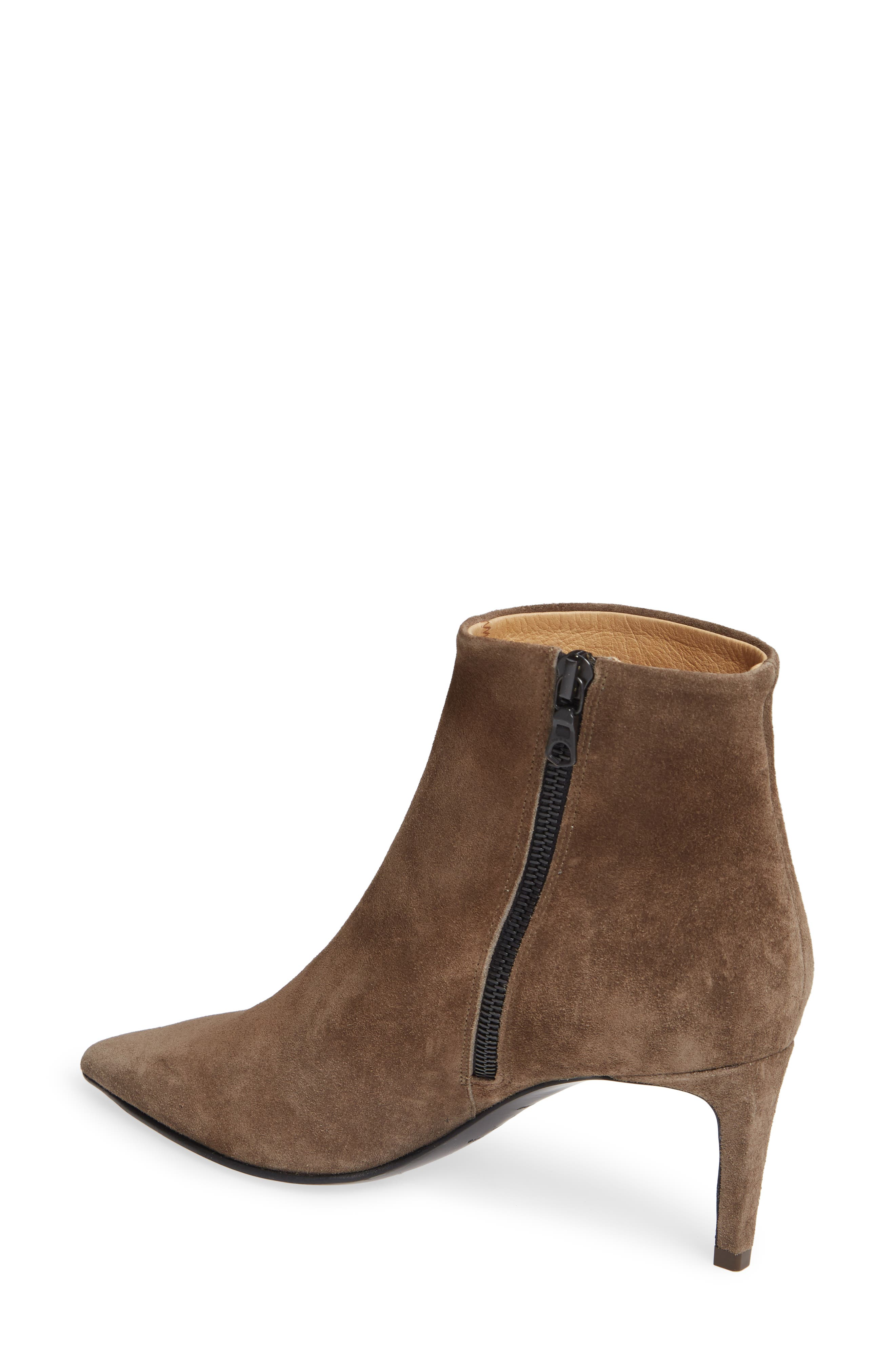 Beha Pointy Toe Bootie,                             Alternate thumbnail 2, color,                             TAUPE SUEDE