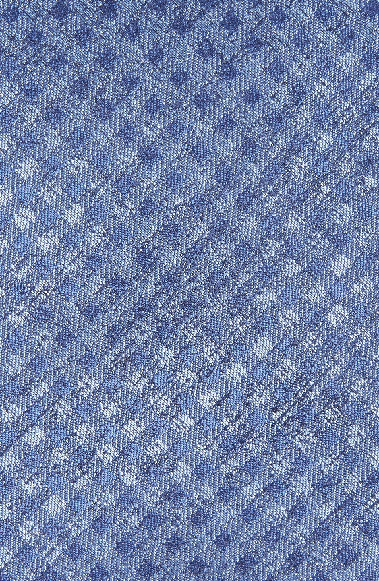 Porter Check Silk Tie,                             Alternate thumbnail 2, color,                             400
