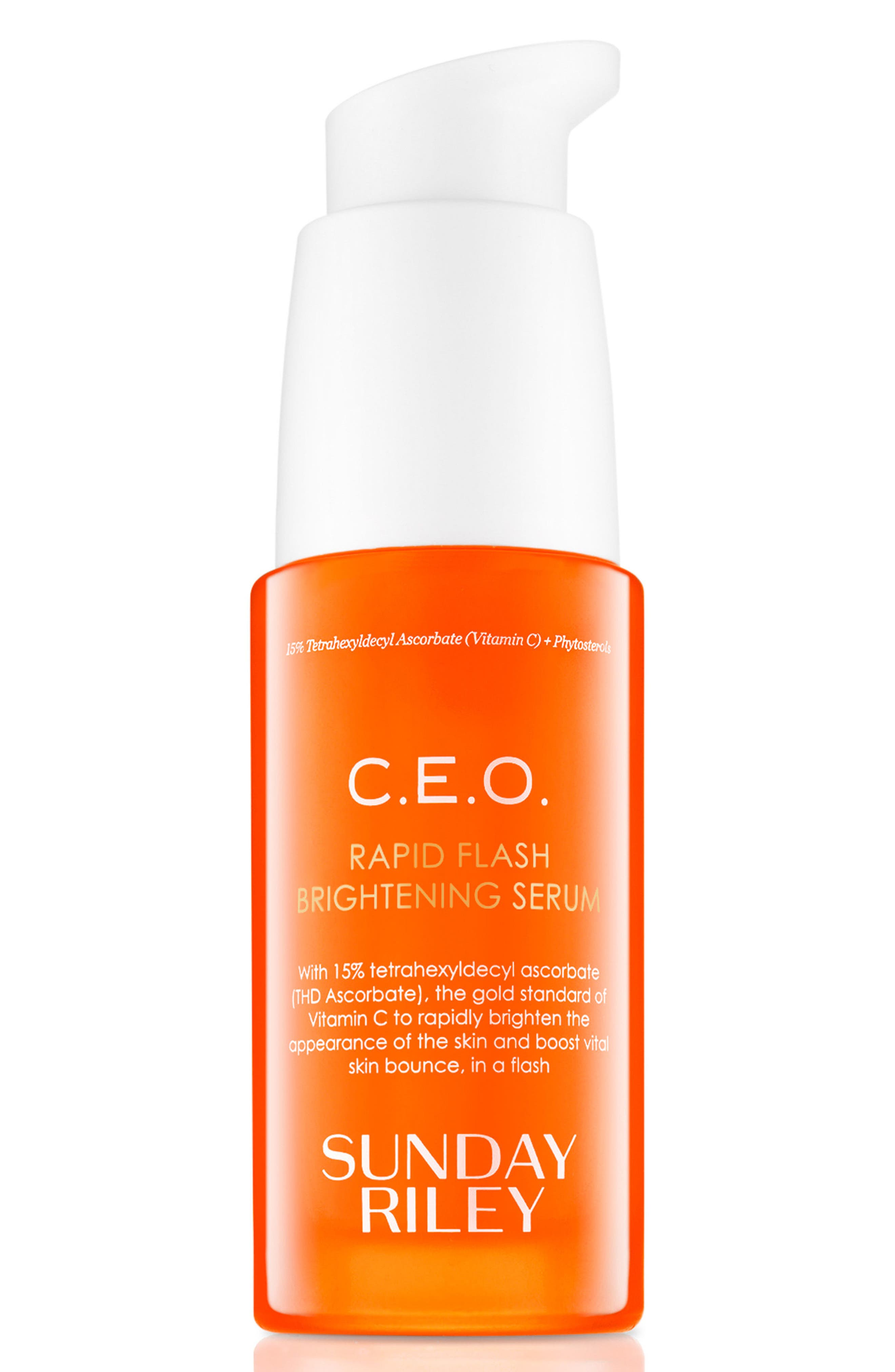 SPACE.NK.apothecary Sunday Riley C.E.O Rapid Flash Brightening Serum,                             Main thumbnail 1, color,                             NO COLOR