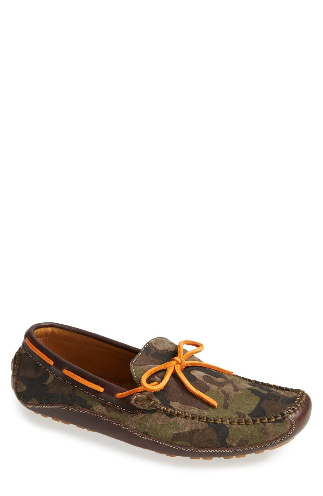 'Drake' Leather Driving Shoe,                             Main thumbnail 2, color,