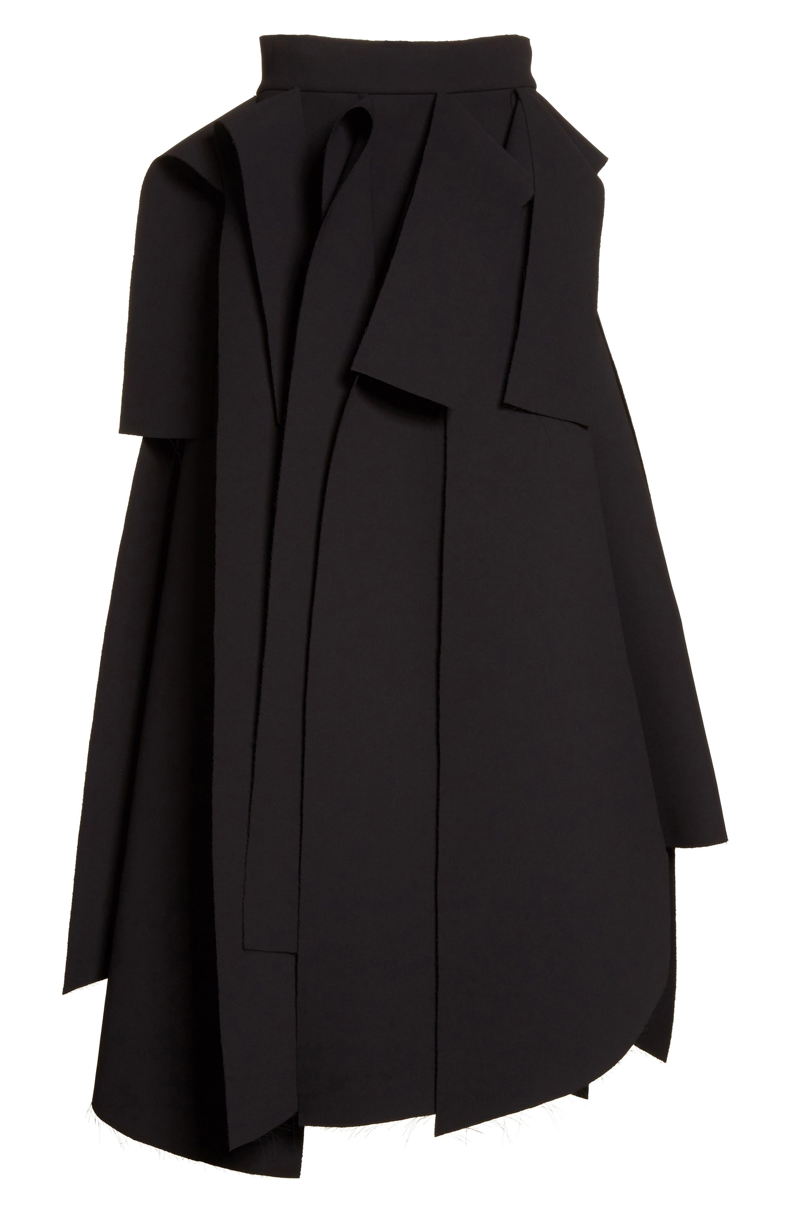 Asymmetric Panel Skirt,                             Alternate thumbnail 6, color,