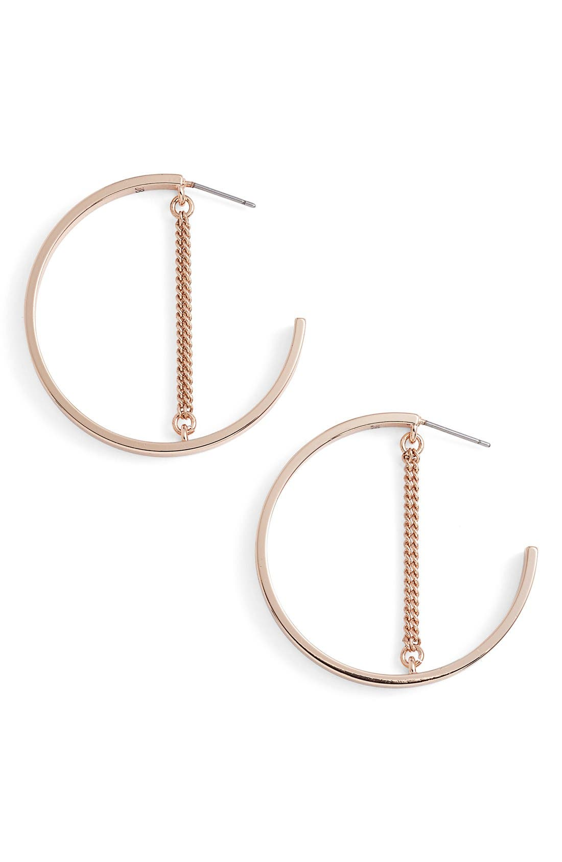 Mia Hoop Earrings,                             Alternate thumbnail 8, color,