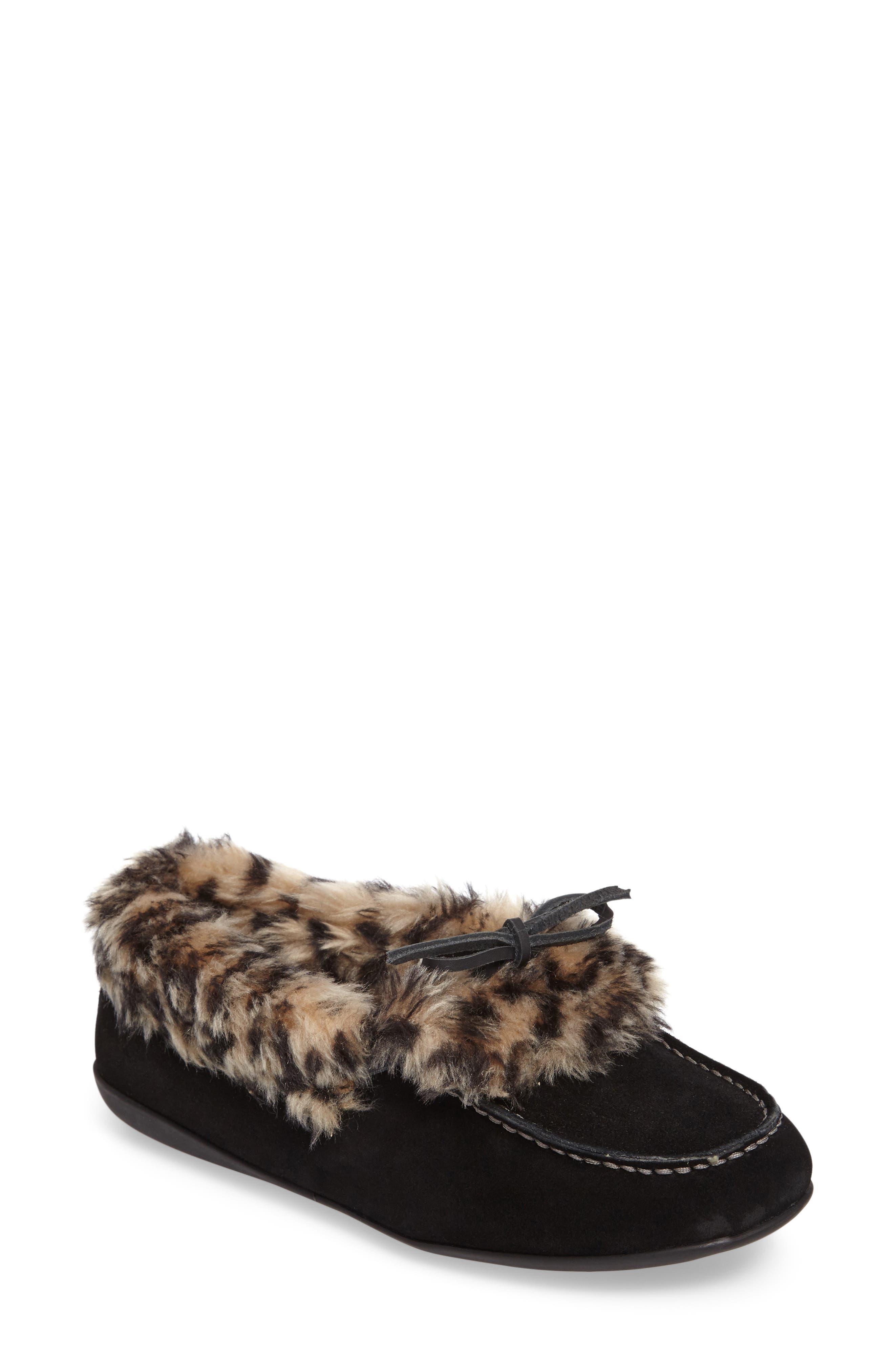 Juniper Faux Fur Slipper,                             Main thumbnail 3, color,