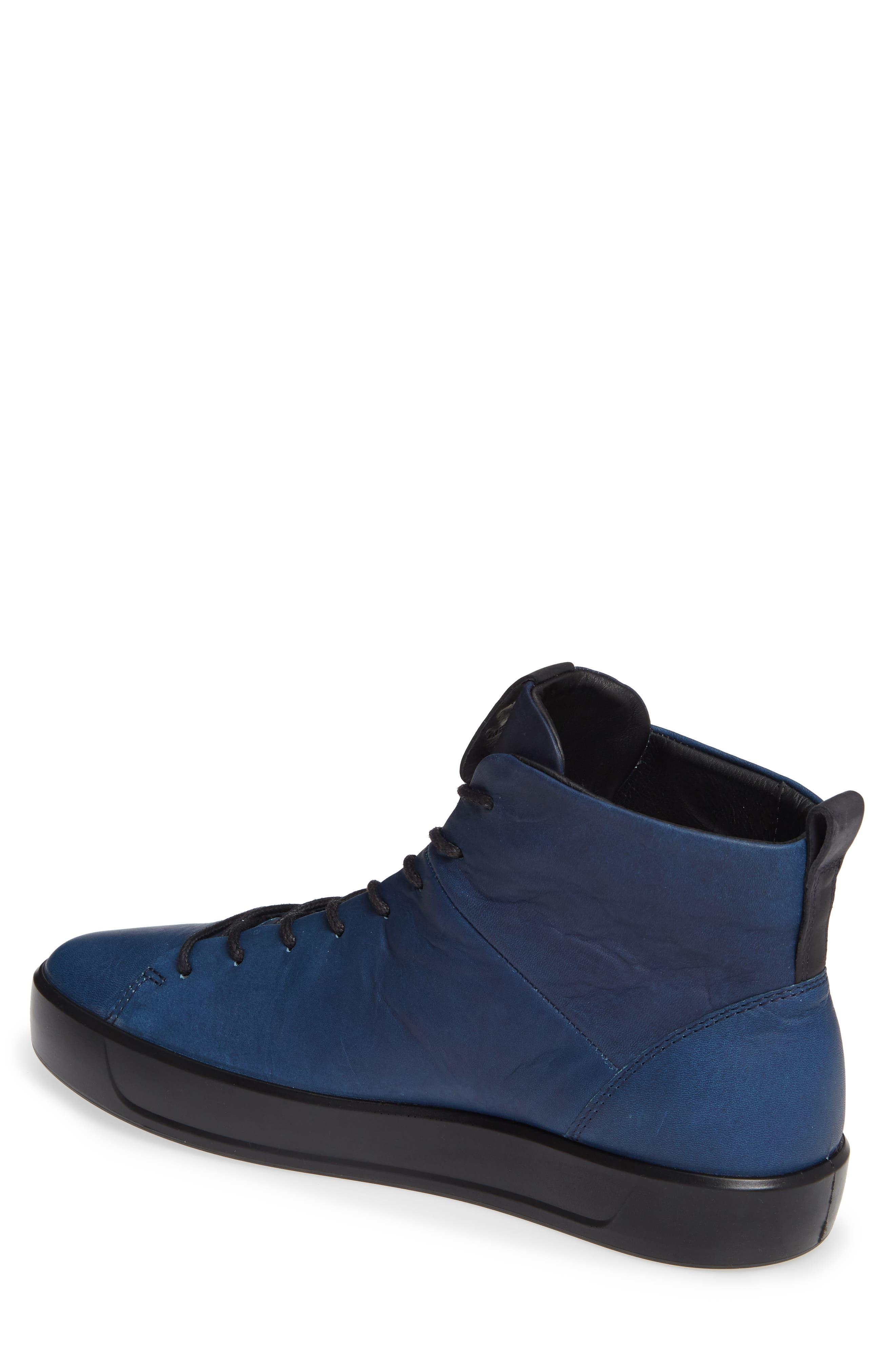 Soft 8 Sneaker,                             Alternate thumbnail 2, color,                             INDIGO LEATHER