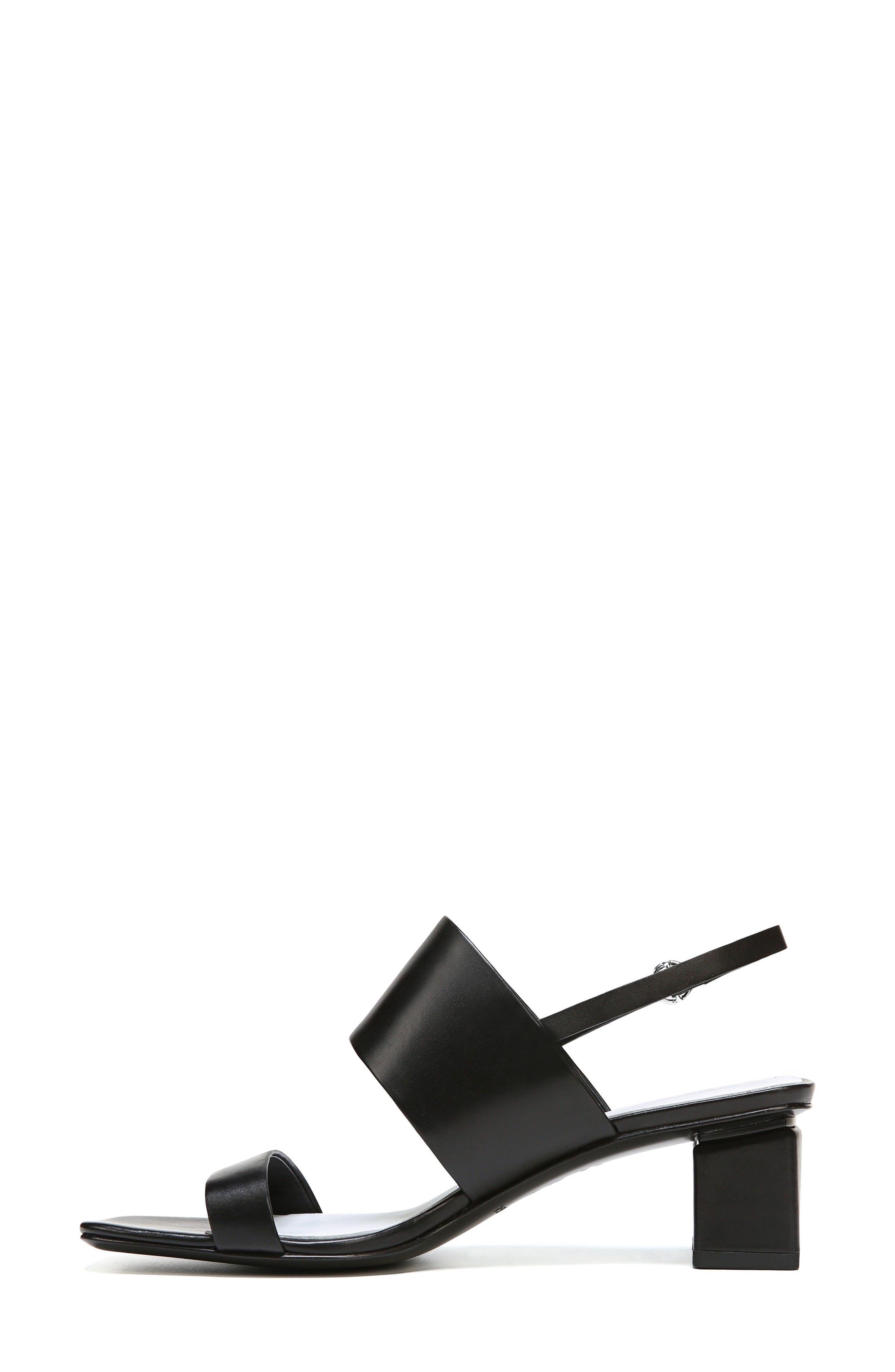 Forte Block Heel Sandal,                             Alternate thumbnail 3, color,                             001