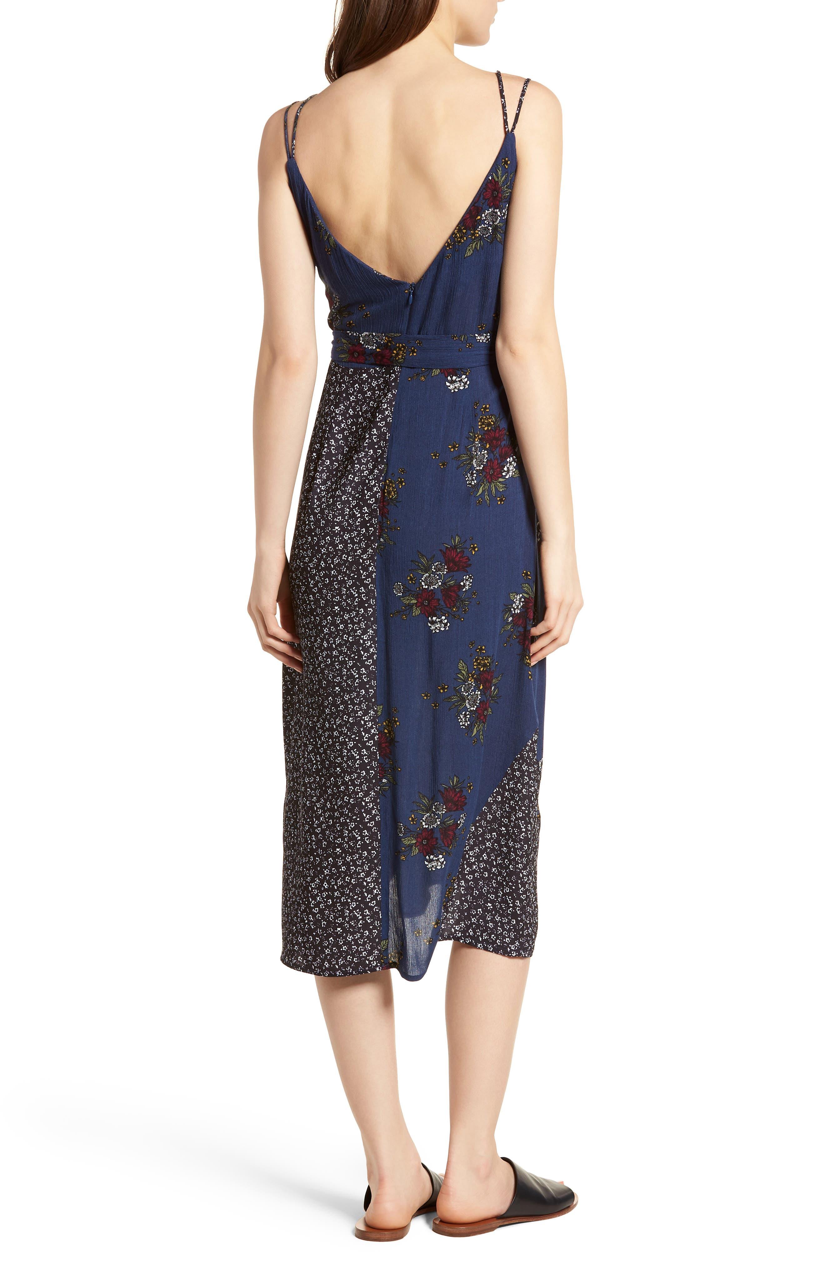 See Me Print Midi Dress,                             Alternate thumbnail 2, color,                             400