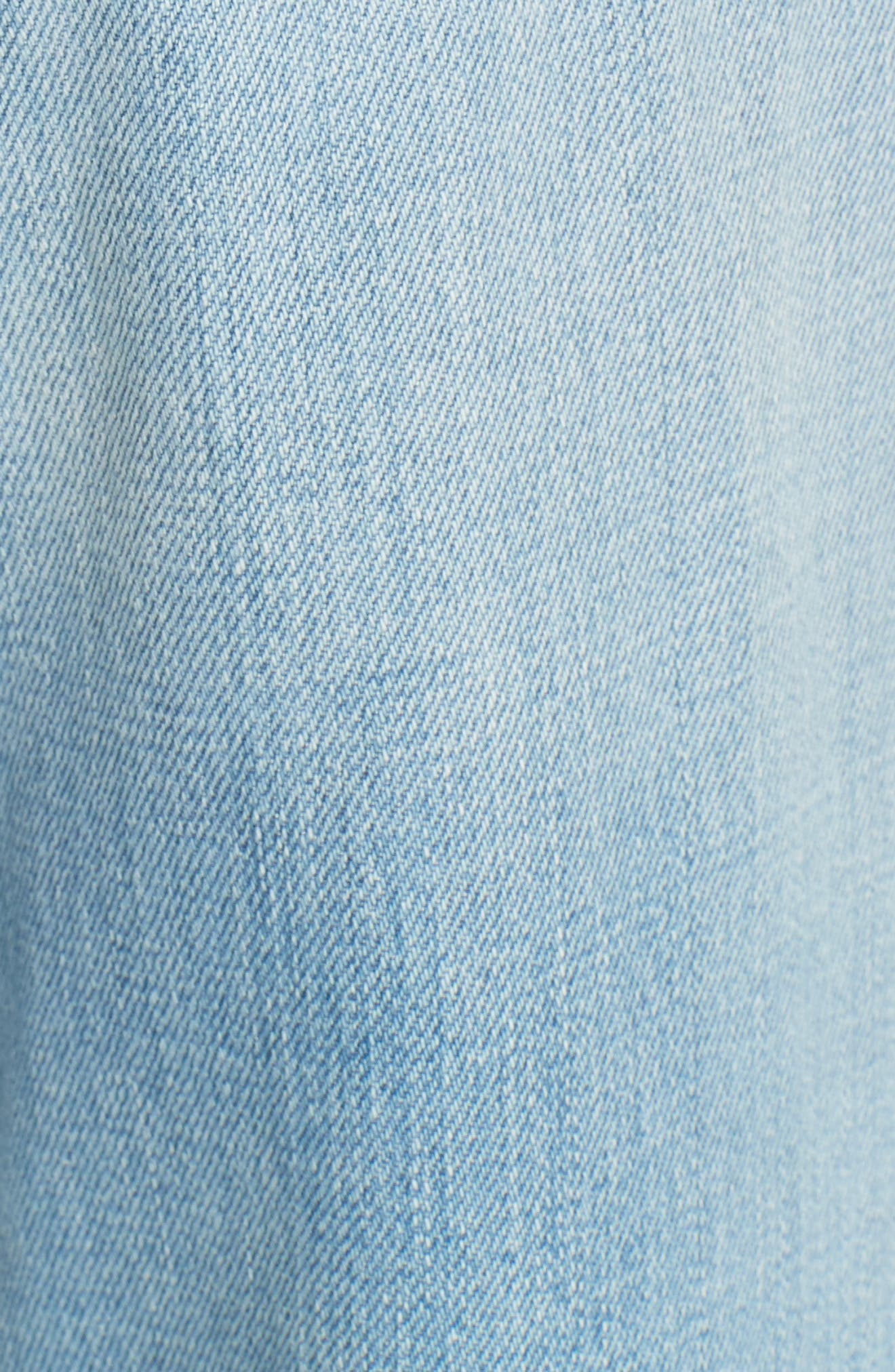 Carla Wide Leg Jeans,                             Alternate thumbnail 6, color,                             GONNA FLY NOW