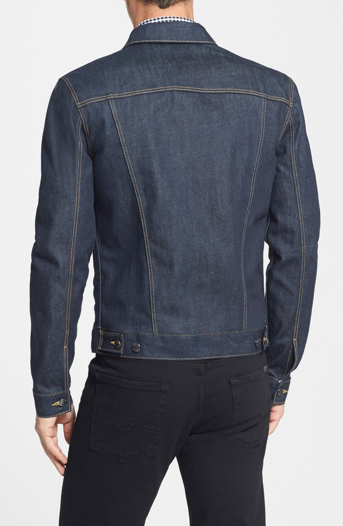 Denim Jacket,                             Alternate thumbnail 3, color,                             400