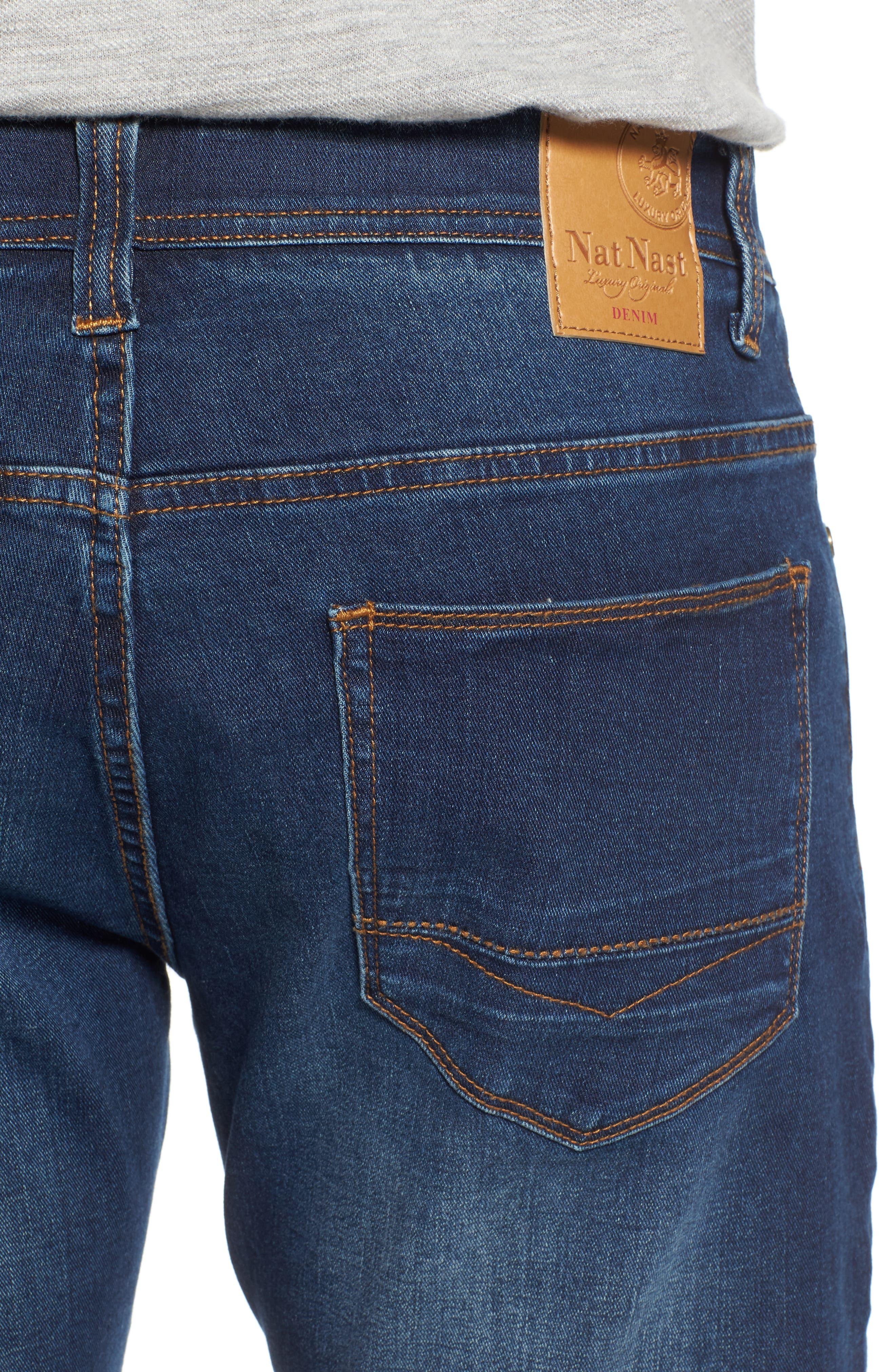 Maverick Stretch Slim Fit Jeans,                             Alternate thumbnail 4, color,                             400