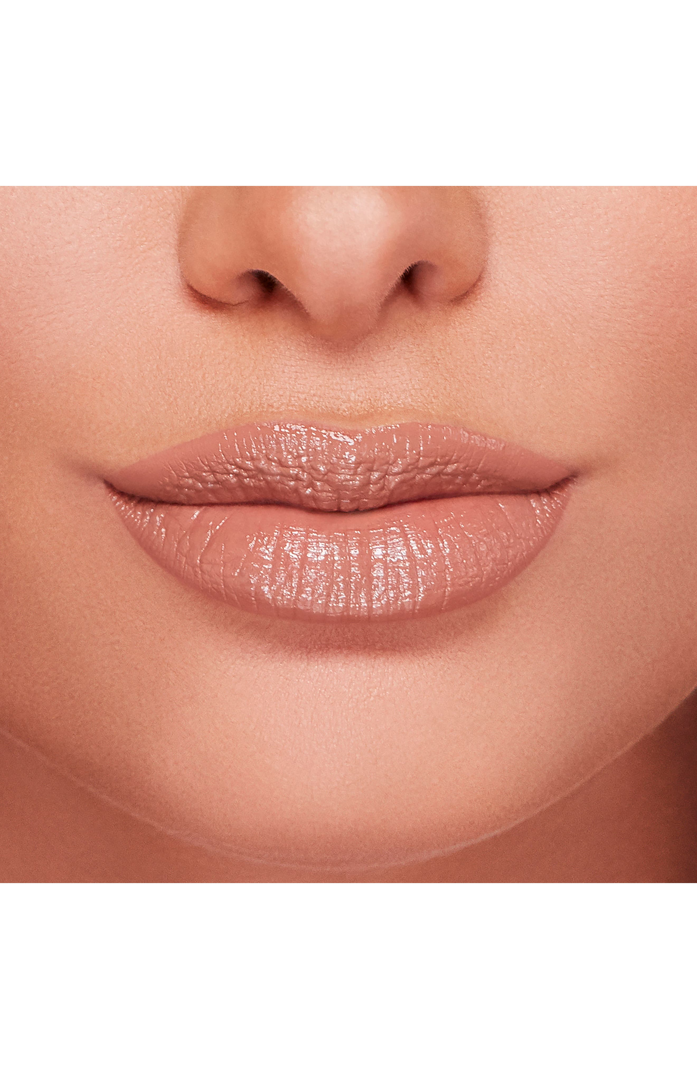 Natural Nudes Lipstick,                             Alternate thumbnail 6, color,                             NIP SLIP
