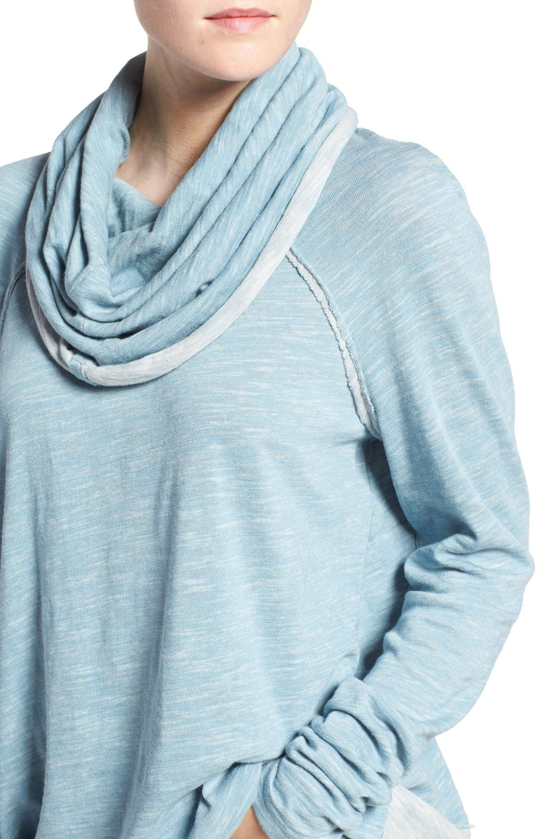 'Beach Cocoon' Cowl Neck Pullover,                             Alternate thumbnail 49, color,