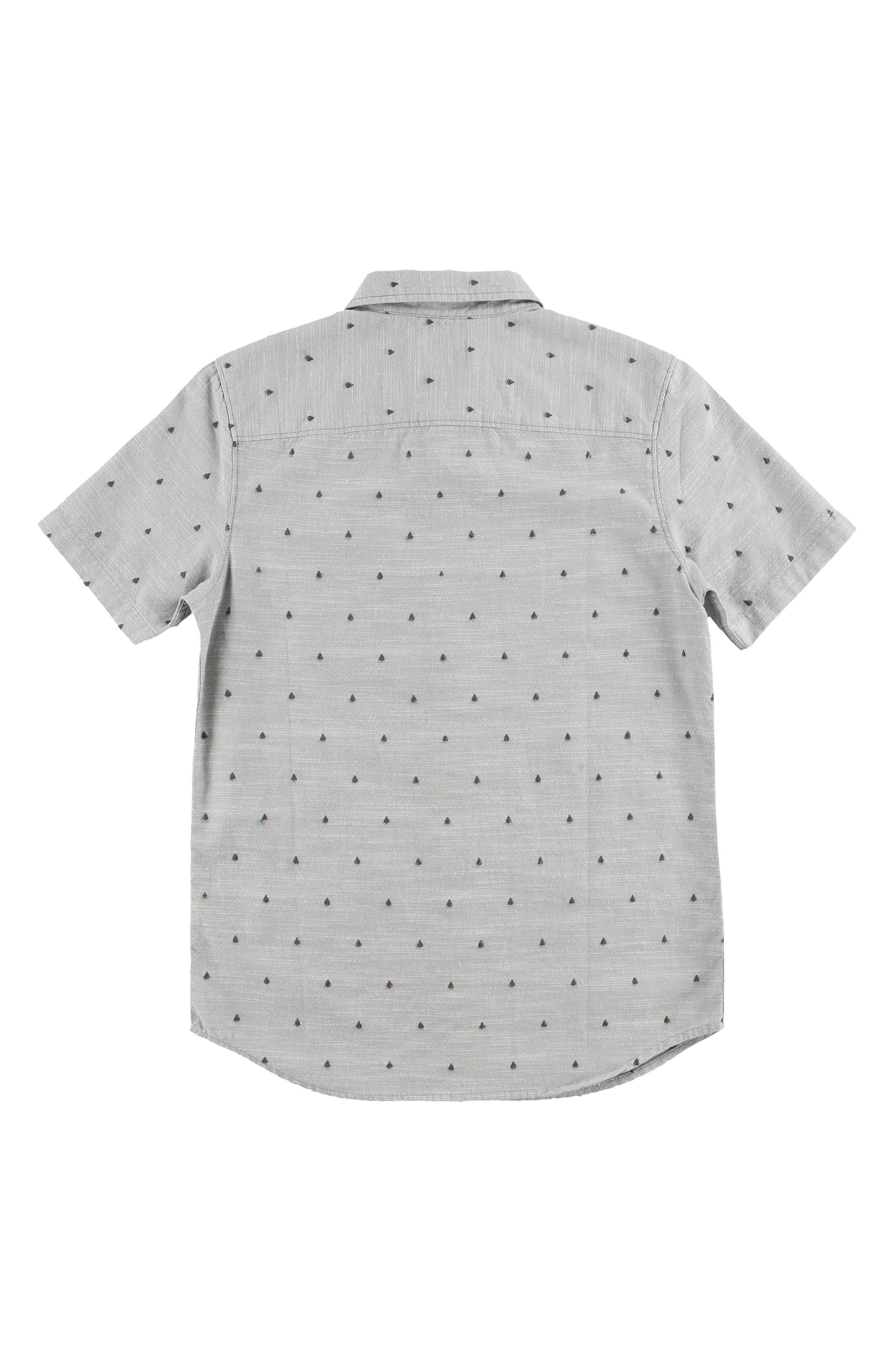 O'NEILL,                             Woods Woven Shirt,                             Alternate thumbnail 2, color,                             GREY