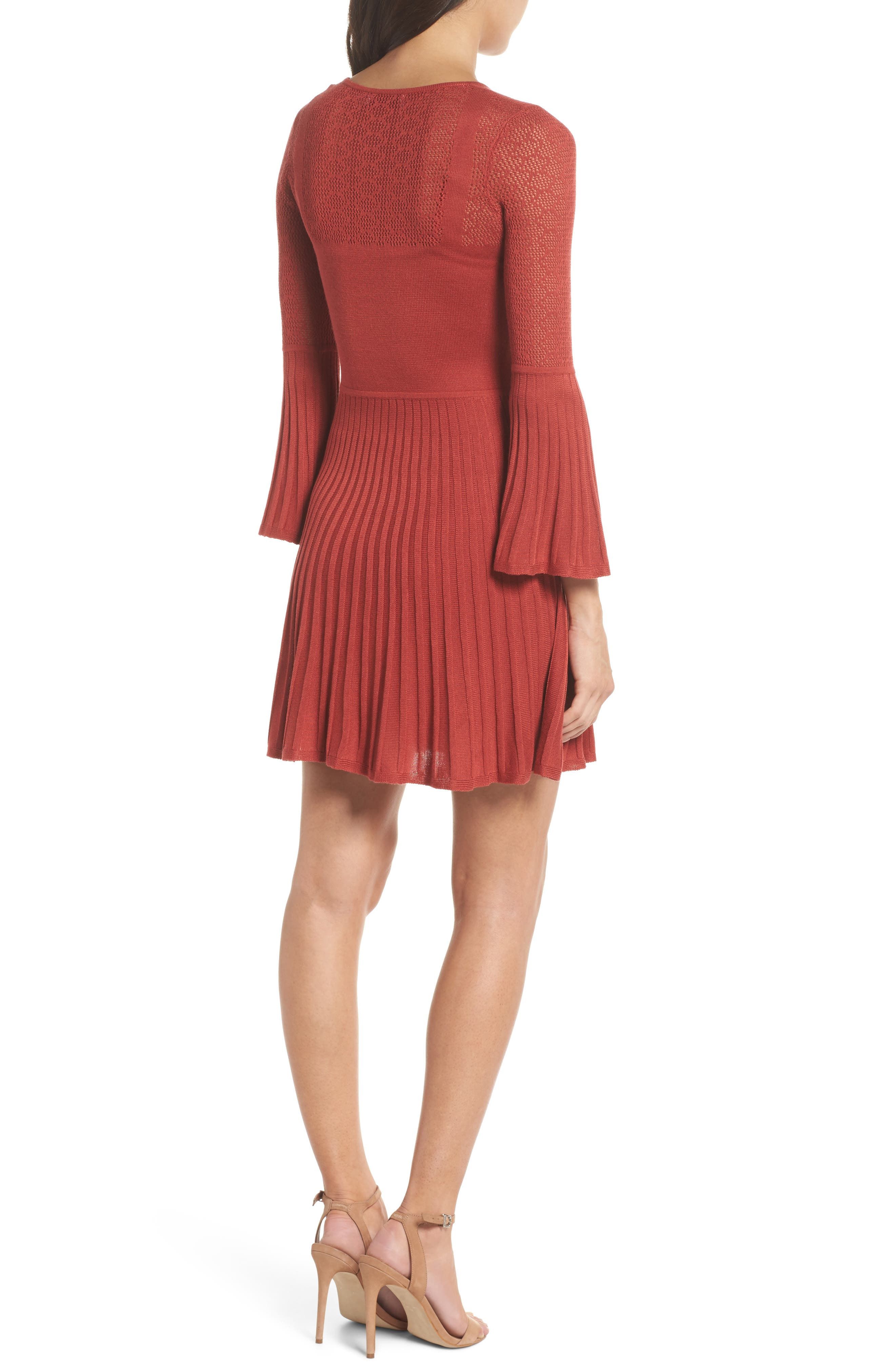 Private Concert Sweater Dress,                             Alternate thumbnail 2, color,                             600