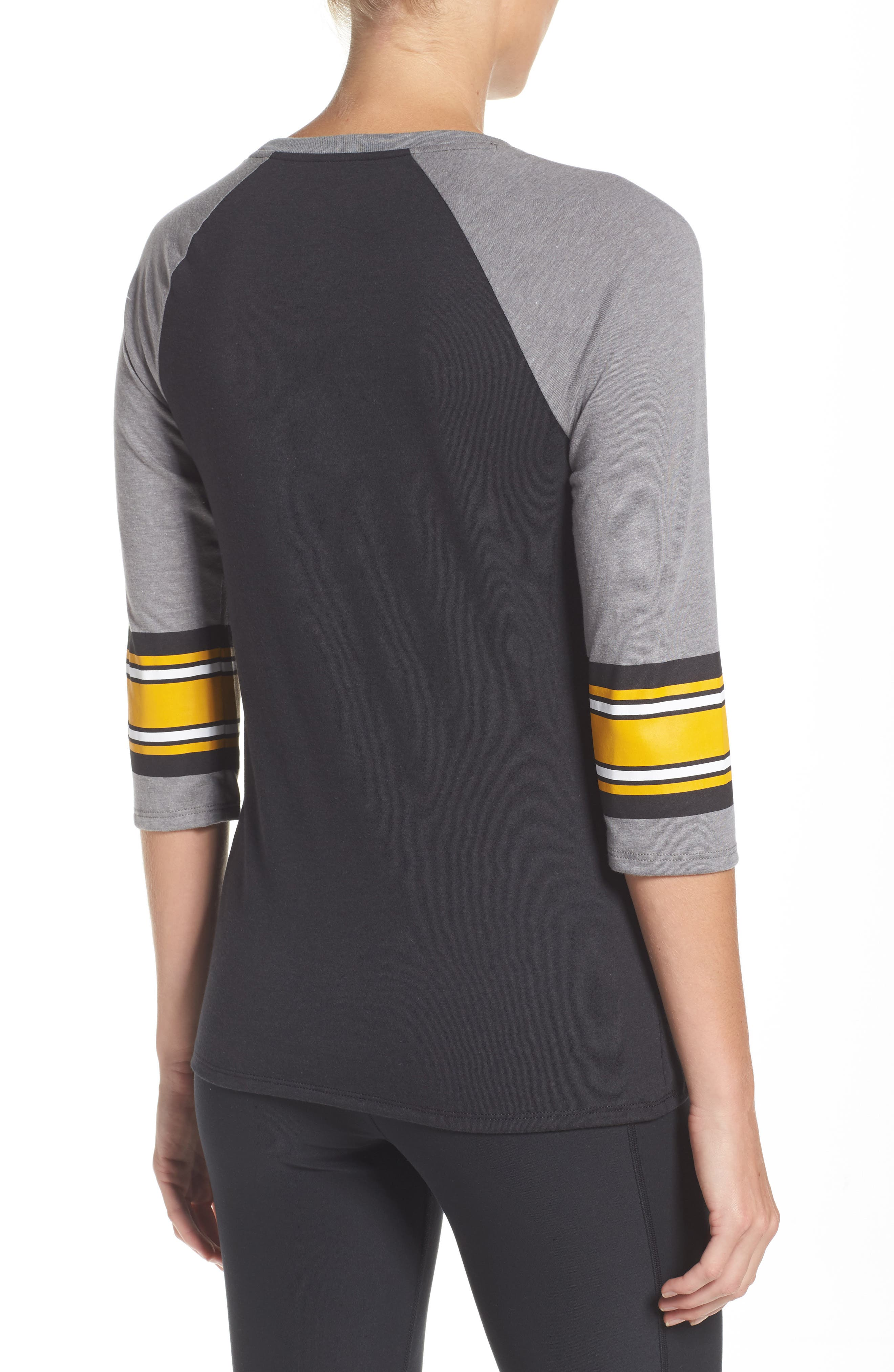 NFL Stripe Varsity Tee,                             Alternate thumbnail 2, color,                             010